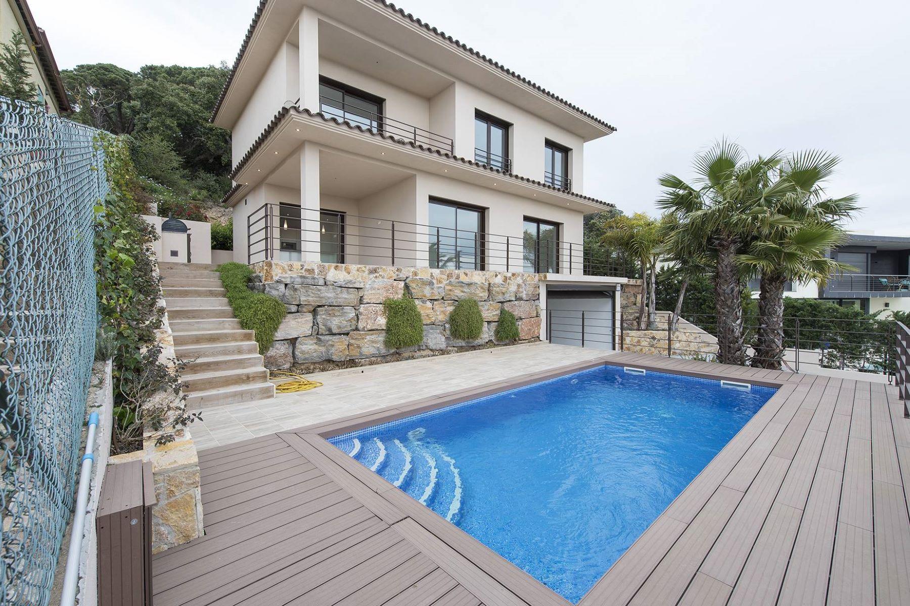 Single Family Home for Sale at Newly built villa with fantastic views to the Mediterranean Sea Lloret De Mar, Costa Brava, 17310 Spain