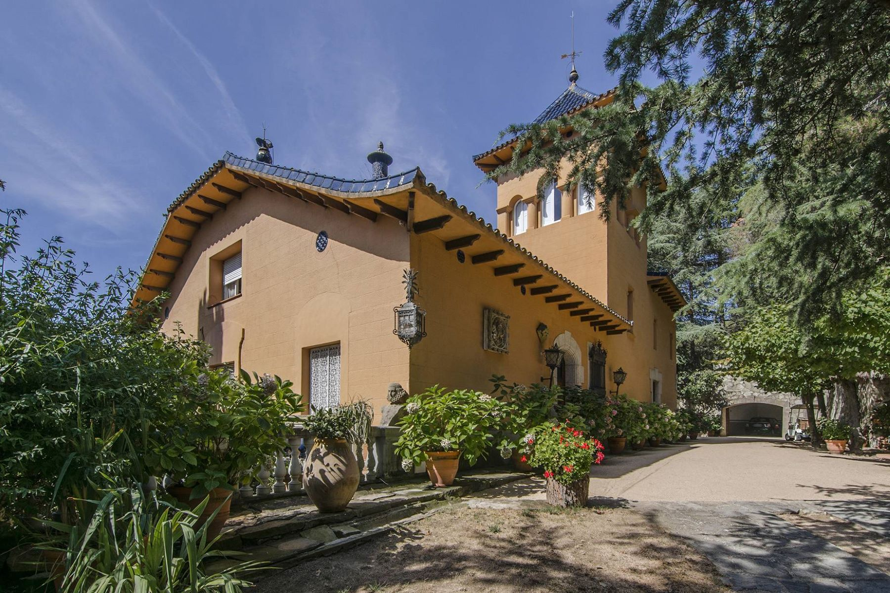 Single Family Home for Sale at A piece of paradise with 4ha of land in the Maresme Sant Andreu De Llavaneres, Barcelona, 08392 Spain