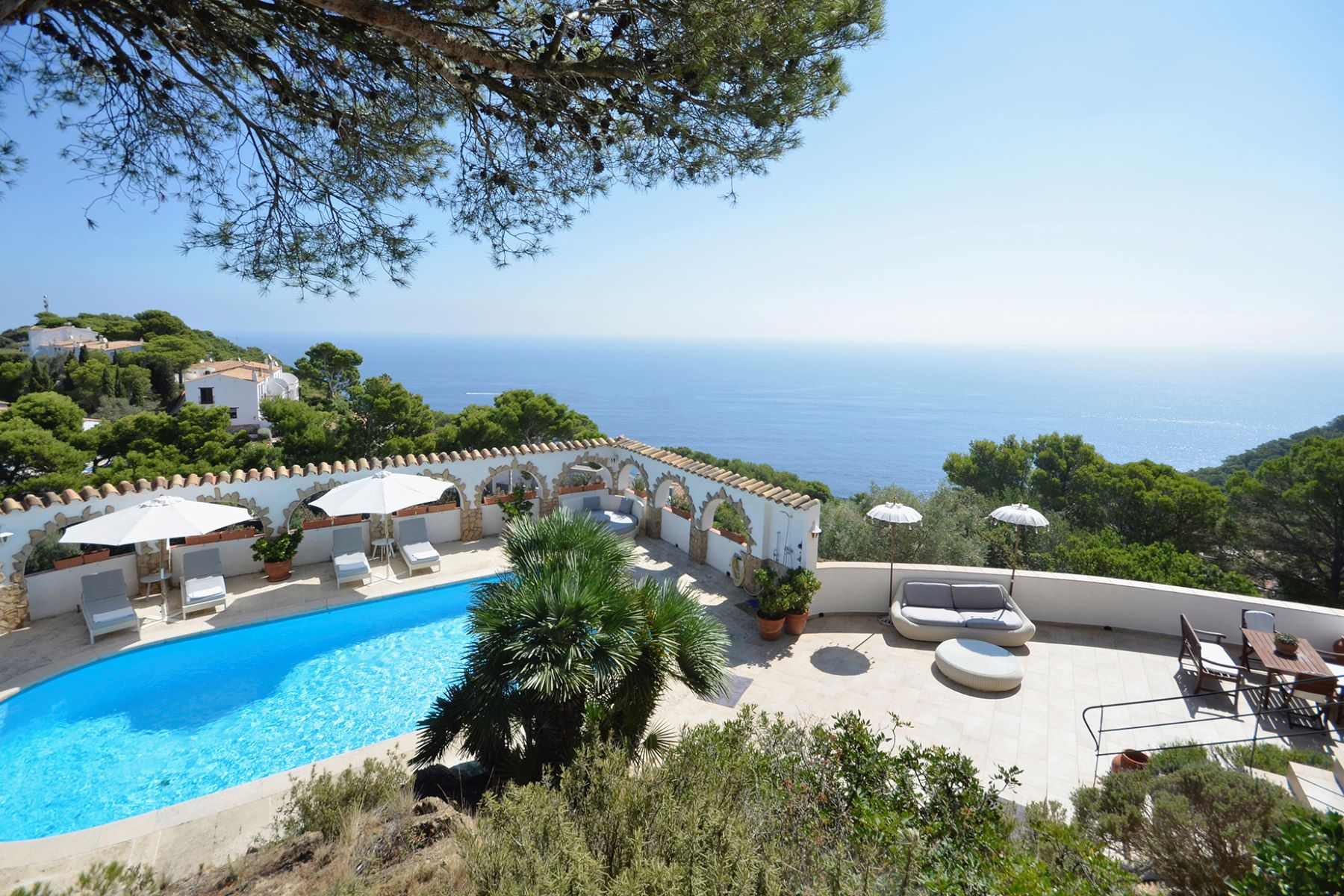 Single Family Home for Active at Mediterranean house with character and beautiful sea views Begur, Costa Brava 17255 Spain