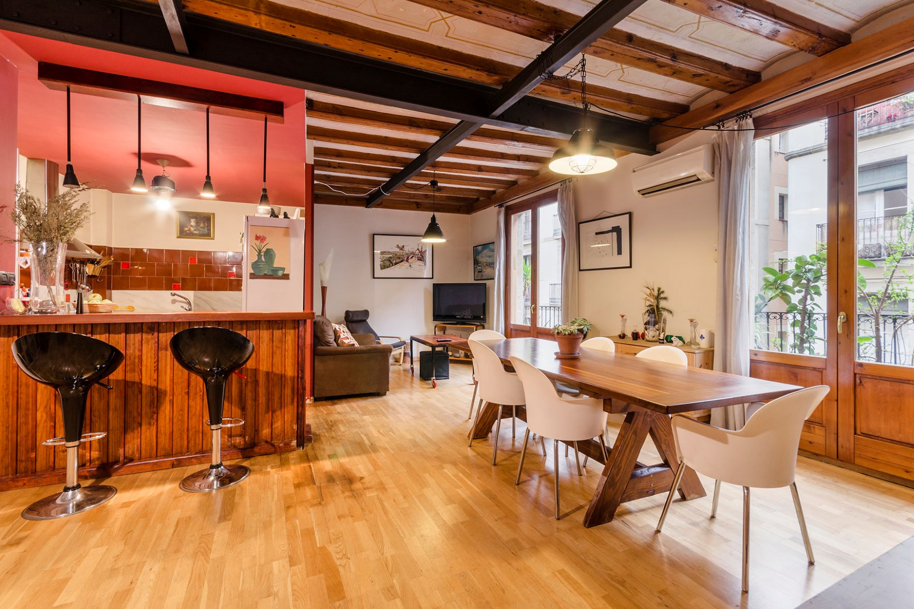 Apartment for Sale at Bright and authentic apartment in the very heart of El Born Barcelona City, Barcelona, 08002 Spain