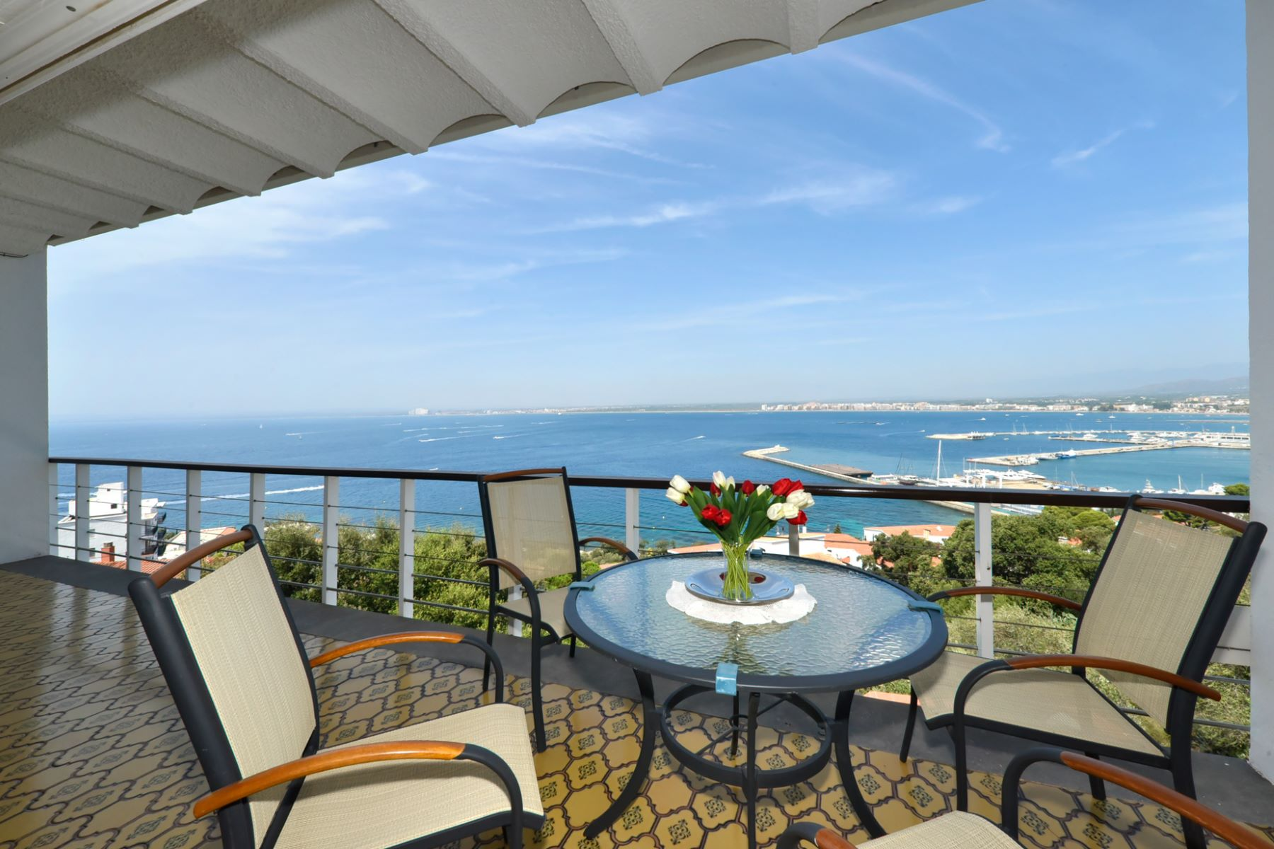 Single Family Home for Sale at Villa overlooking the marina of Roses Roses, Costa Brava, 17480 Spain
