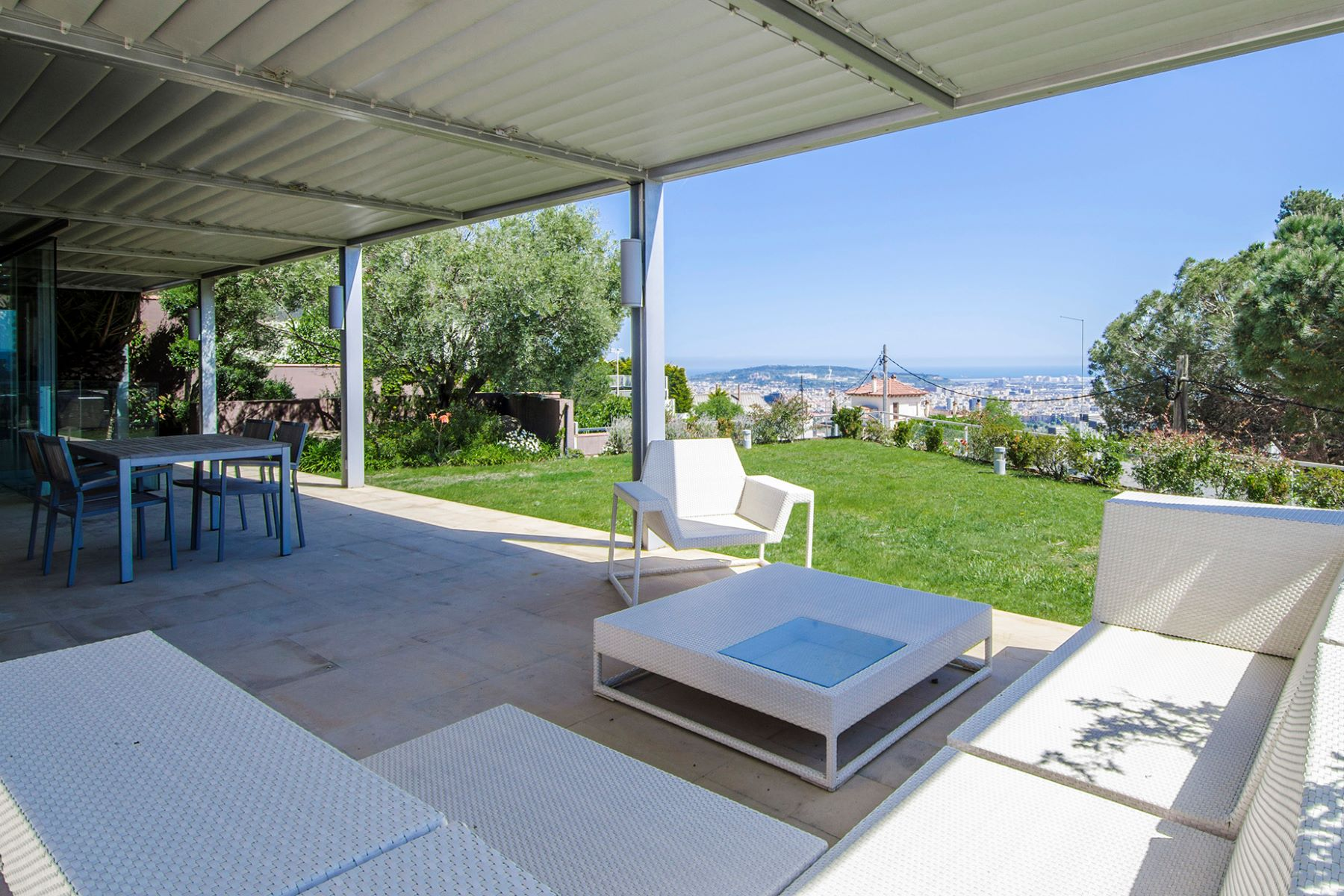 Single Family Home for Sale at Villa with Spectacular Sea and Mountain Views Sant Just Desvern, Barcelona, 08960 Spain