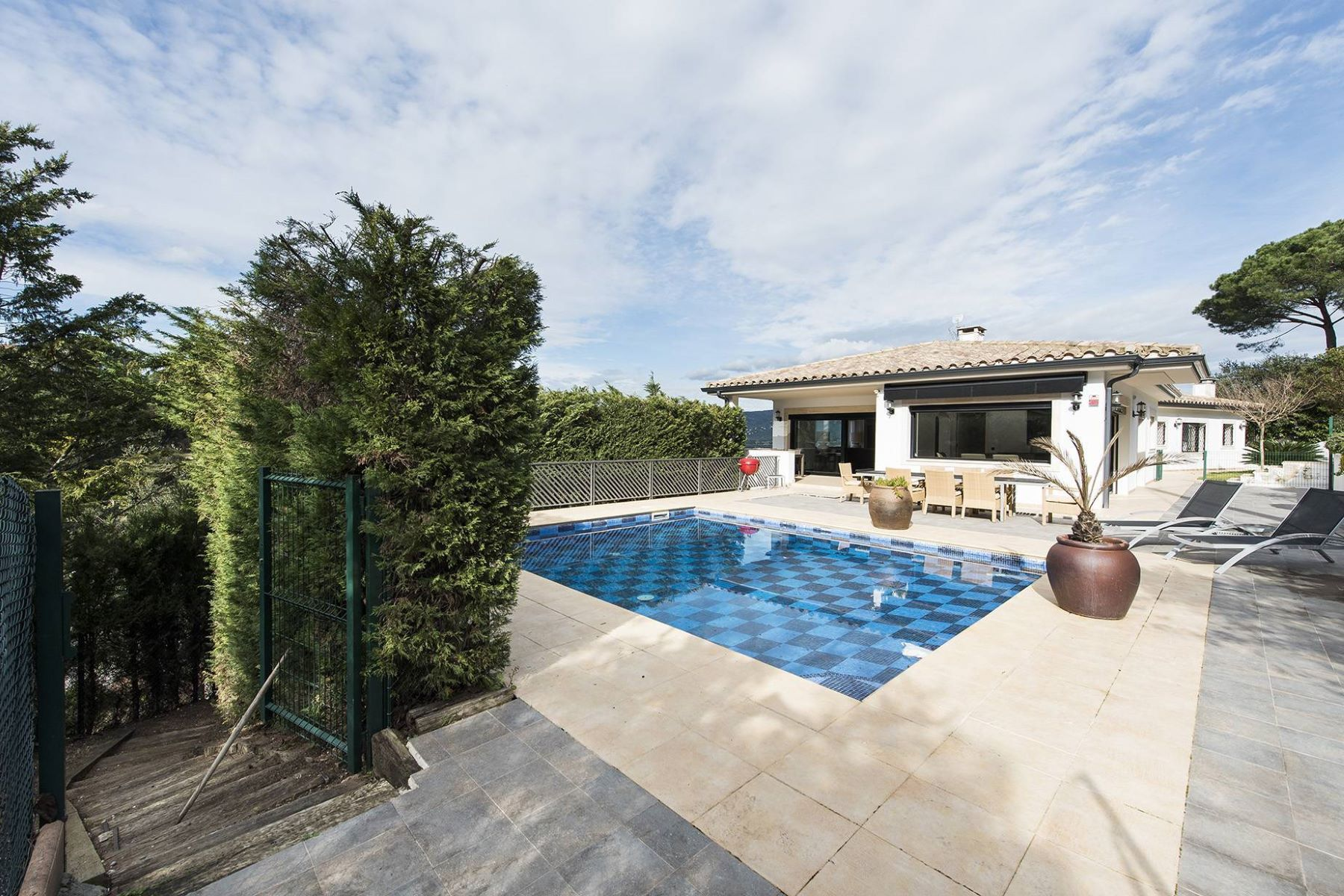 独户住宅 为 销售 在 Beautiful Mediterranean house near the exclusive Costa Brava Golf 圣克里斯蒂娜, 科斯塔布拉瓦, 17246 西班牙