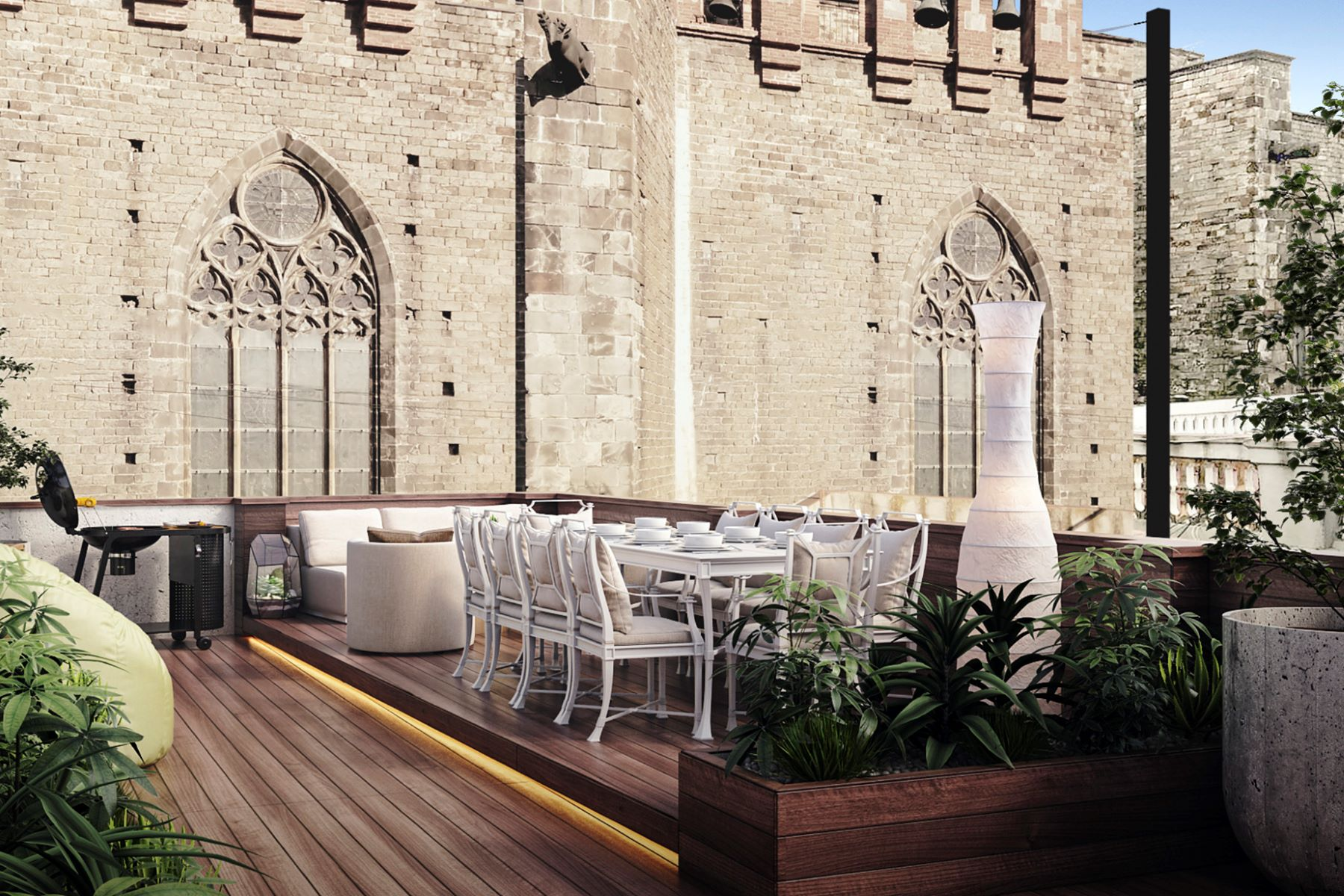Apartment for Sale at Charming penthouse in El Born in front of Santa Maria del Mar Barcelona City, Barcelona, 08002 Spain