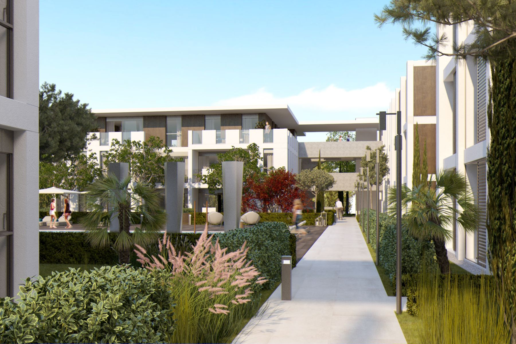 Apartments for Sale at Ground floor with private garden in a new residential complex Platja D Aro, Costa Brava 17250 Spain