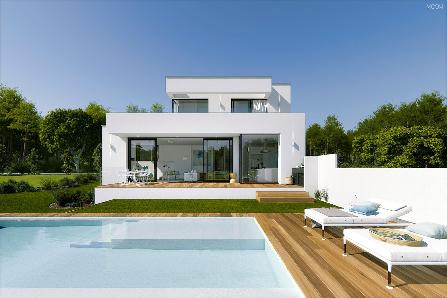 Single Family Home for Sale at Bright designer villa Other Spain, Other Areas In Spain, 17001 Spain