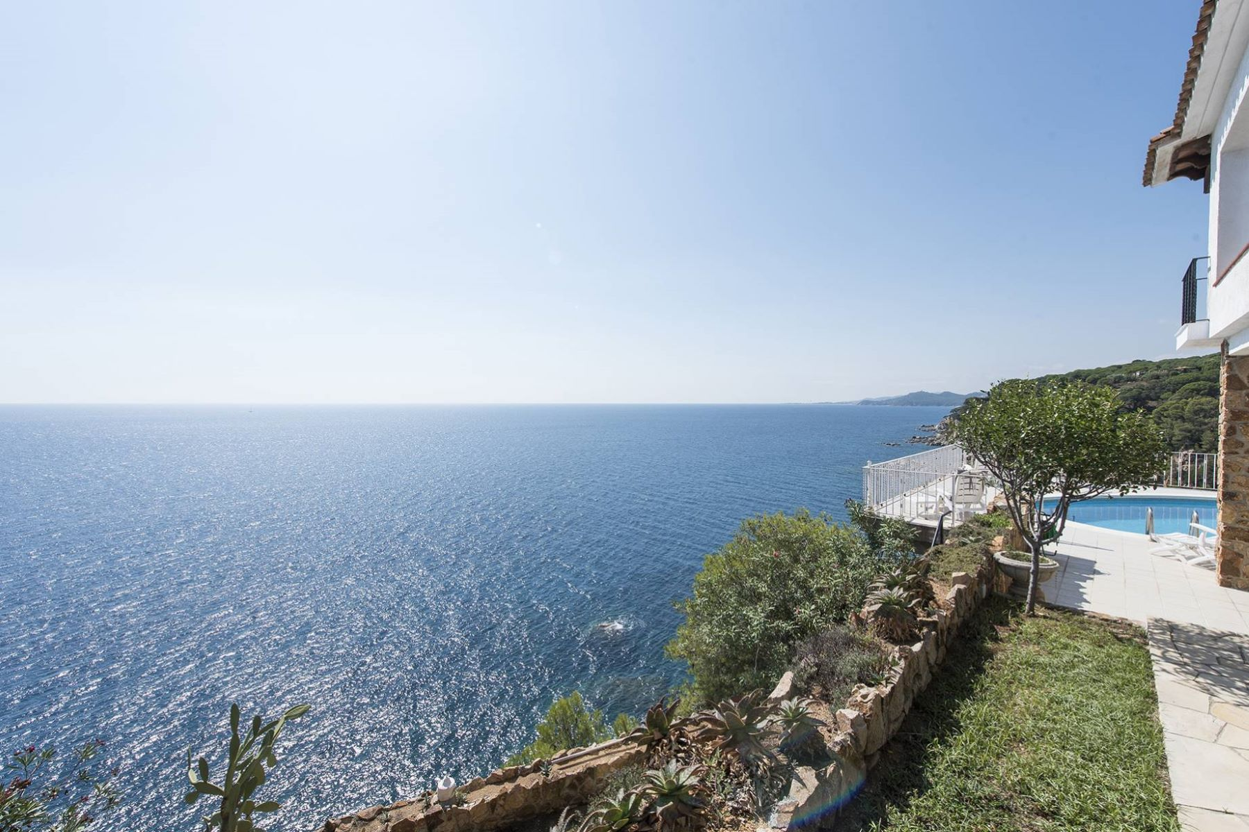 Single Family Home for Sale at Spectacular location on the cliffs above the sea Lloret De Mar, Costa Brava, 17310 Spain
