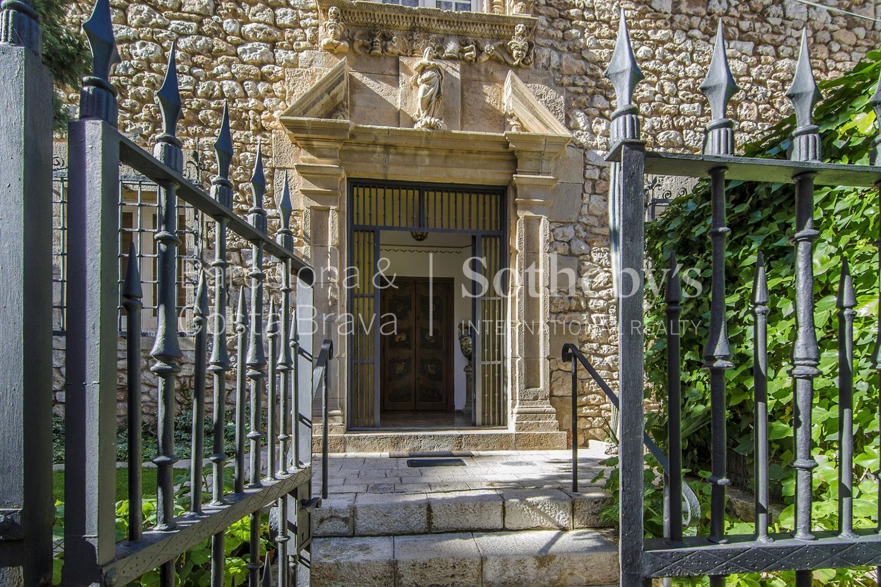 Single Family Home for Sale at A Unique House with a Garden in the Historical Center of Sitges Sitges, Barcelona, 08870 Spain