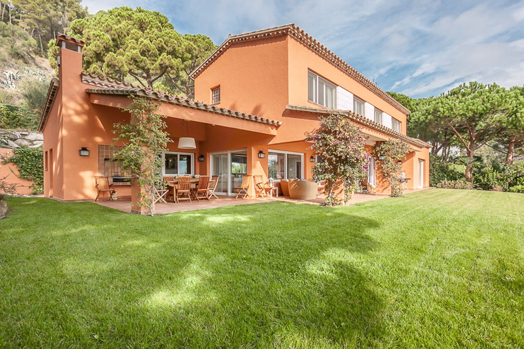 Single Family Home for Sale at Bright villa with sea views in Punta Brava Sant Feliu De Guixols, Costa Brava, 17220 Spain