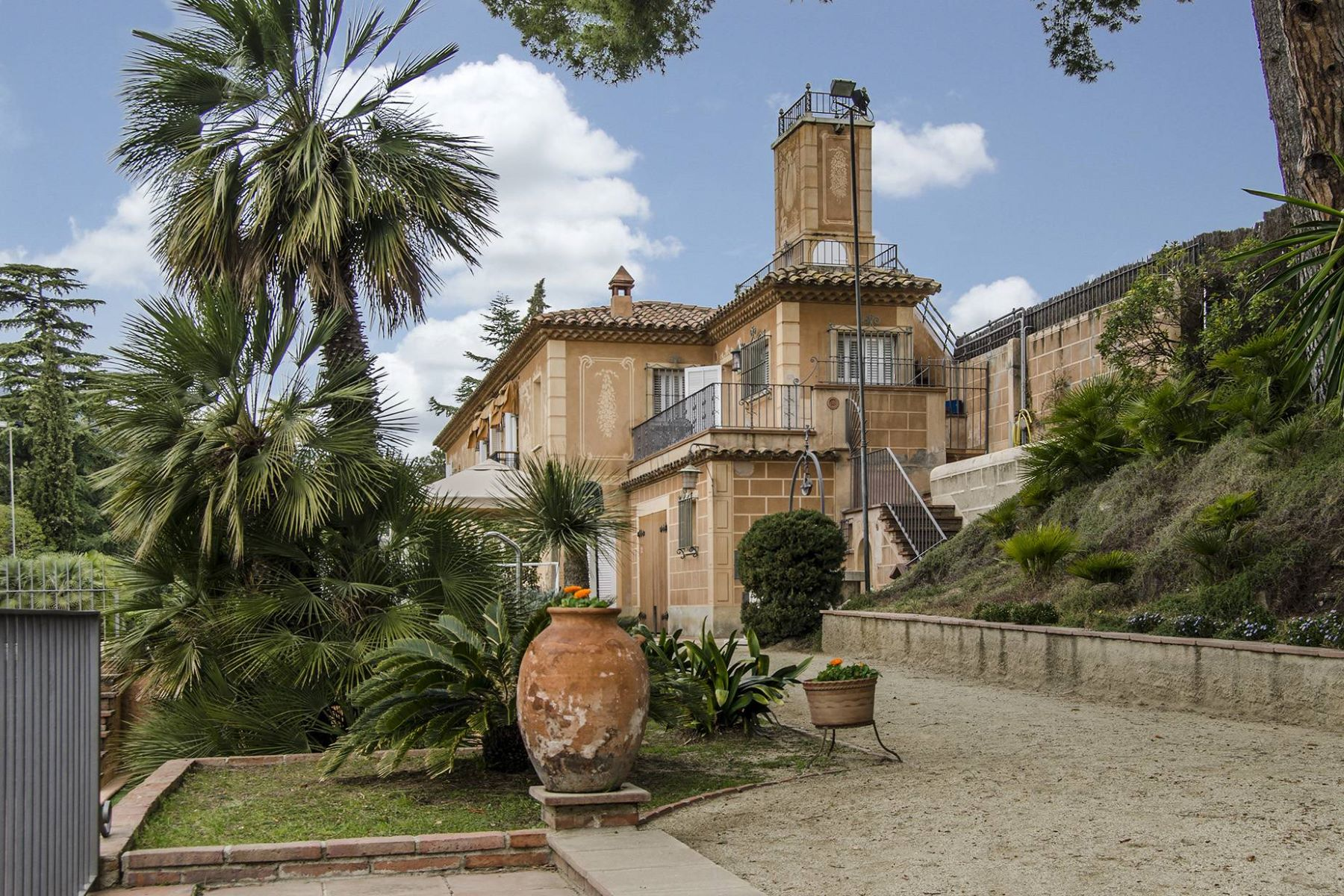 Single Family Home for Sale at Absolute Privacy in an Exclusive Villa of Alella Alella, Barcelona, 08328 Spain