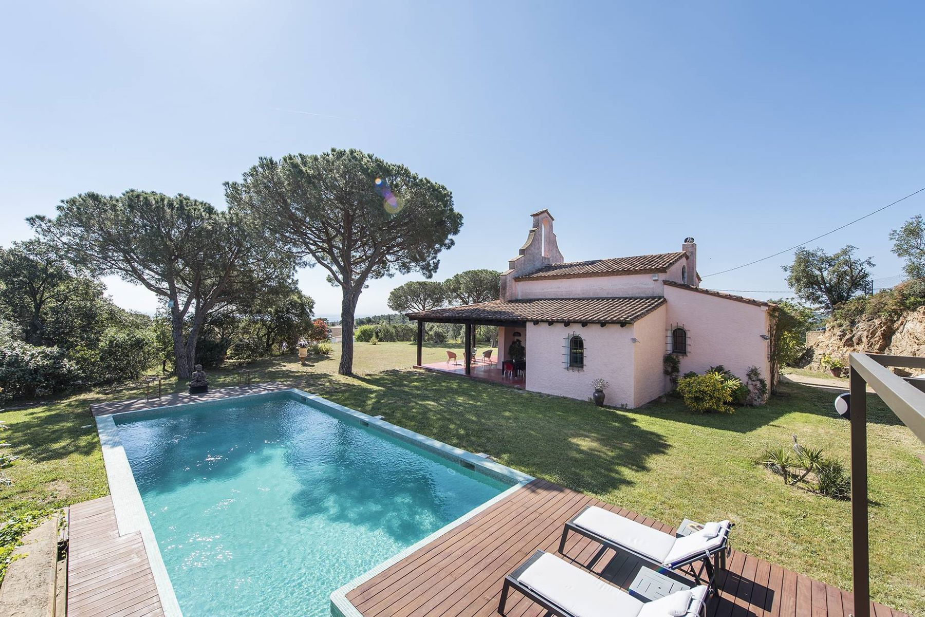 Single Family Home for Sale at Restored old chapel with sea views in Playa de Aro Playa De Aro, Costa Brava, 17250 Spain