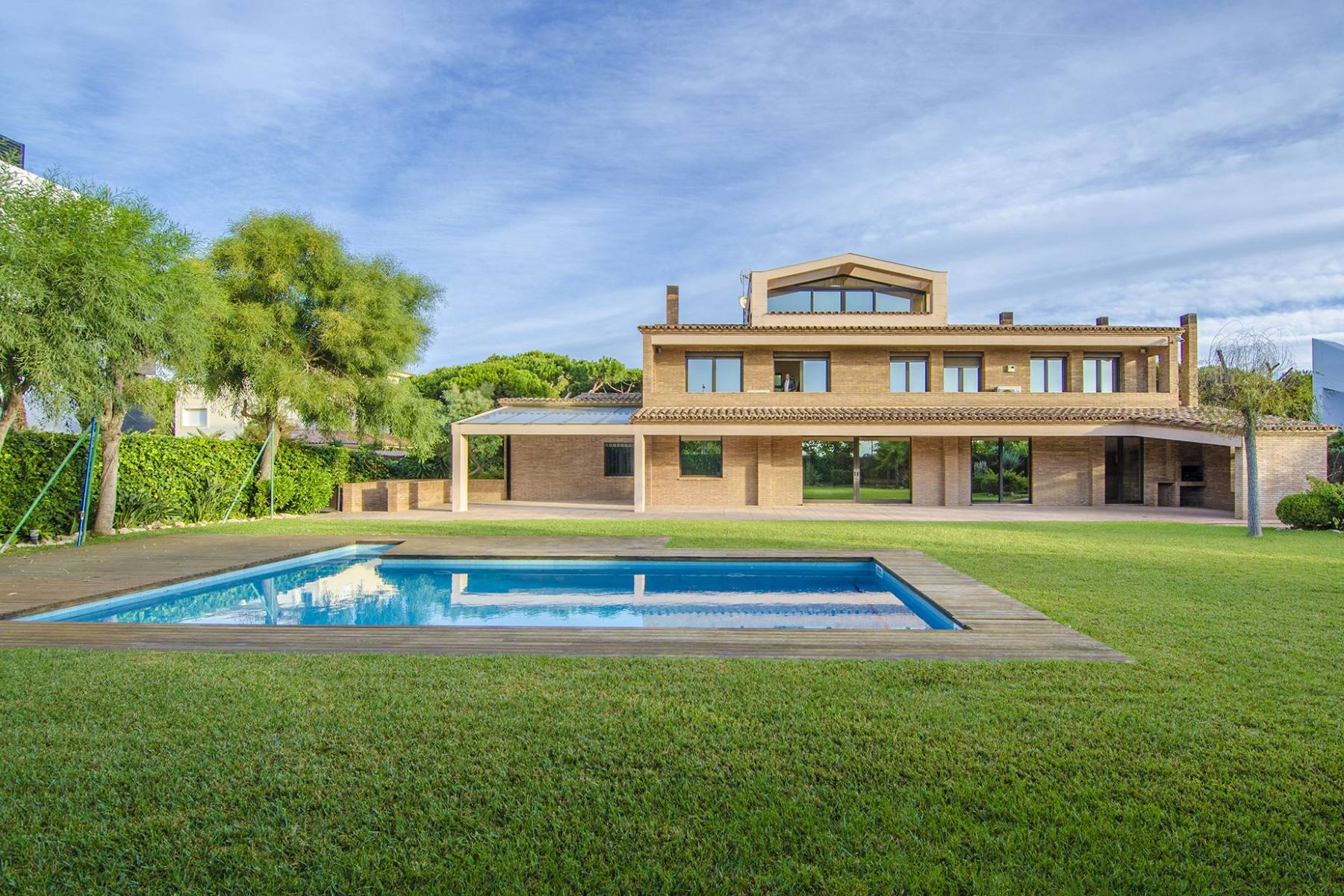 Single Family Home for Sale at Seafront Mansion with Spectacular Views in Gavá Mar Gava Mar, Barcelona 08850 Spain