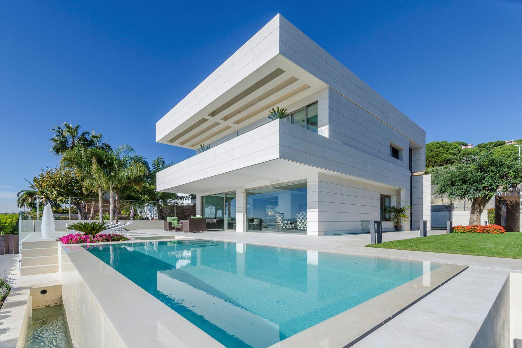 独户住宅 为 销售 在 Extraordinary Design Villa in Teia Teia, 巴塞罗那, 08329 西班牙