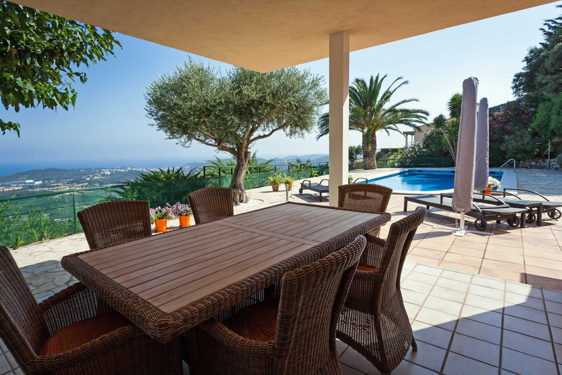 Single Family Home for Sale at Detached house with panoramic sea views Playa De Aro, Costa Brava, 17250 Spain