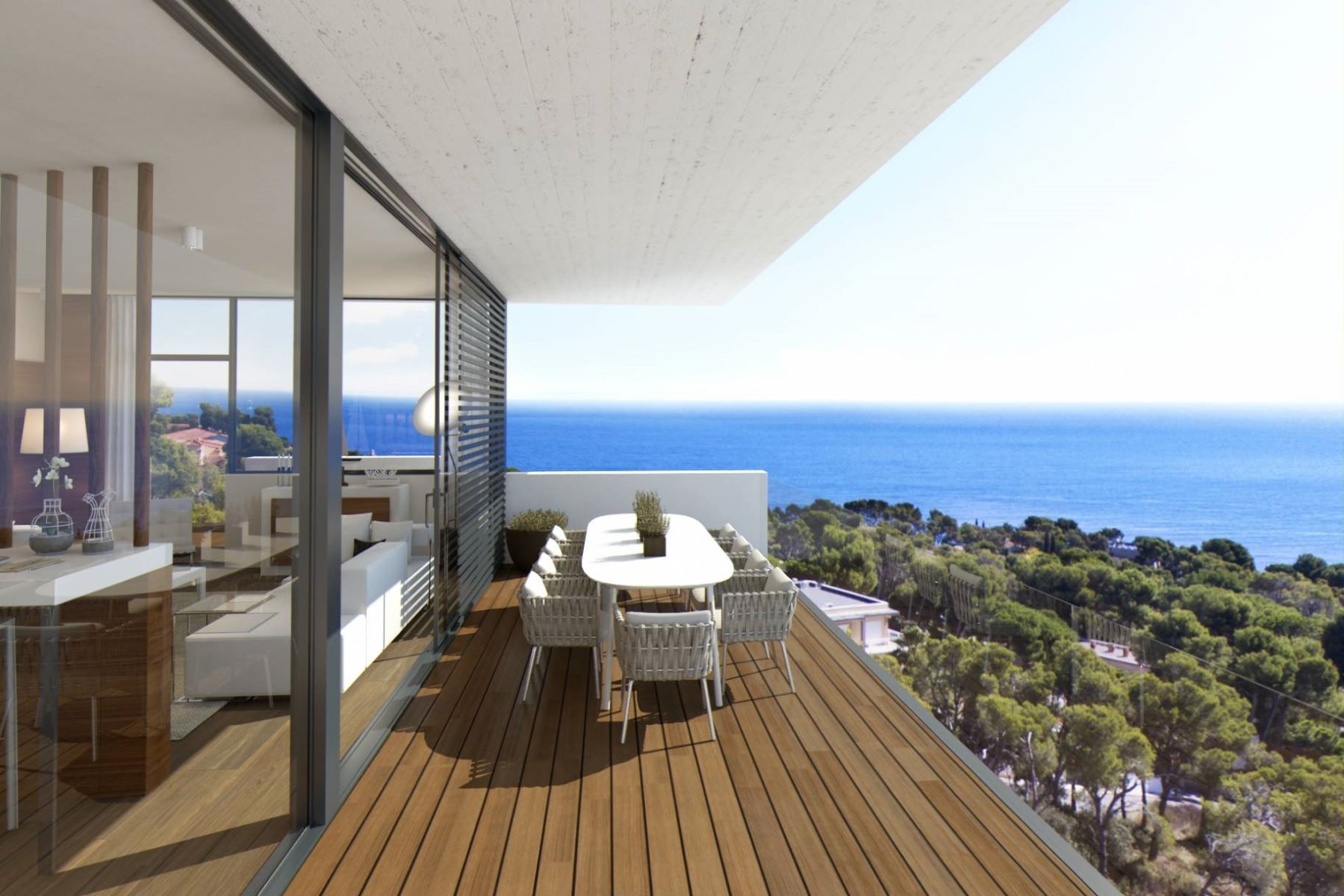 Apartman Dairesi için Satış at Penthouse with sea view in a new exclusive development Playa De Aro, Costa Brava, 17250 Ispanya