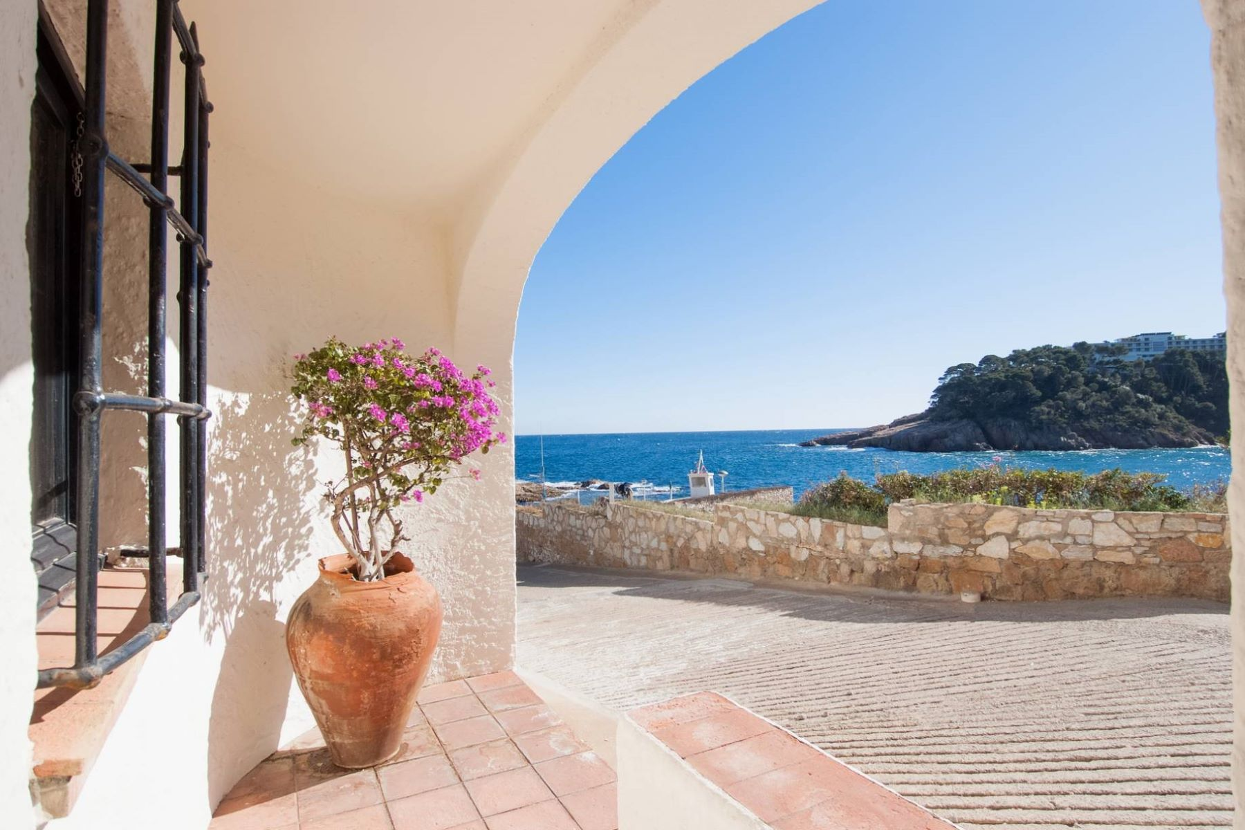 Single Family Home for Sale at Fisherman's house in the Port of Fornells, Aiguablava Begur, Costa Brava, 17255 Spain