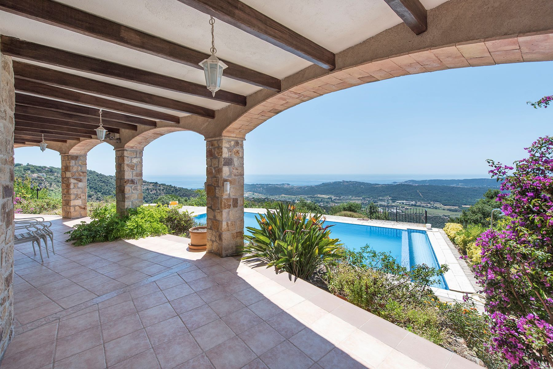 Maison unifamiliale pour l Vente à Welcoming house with stunning sea views Playa De Aro, Costa Brava, 17250 Espagne