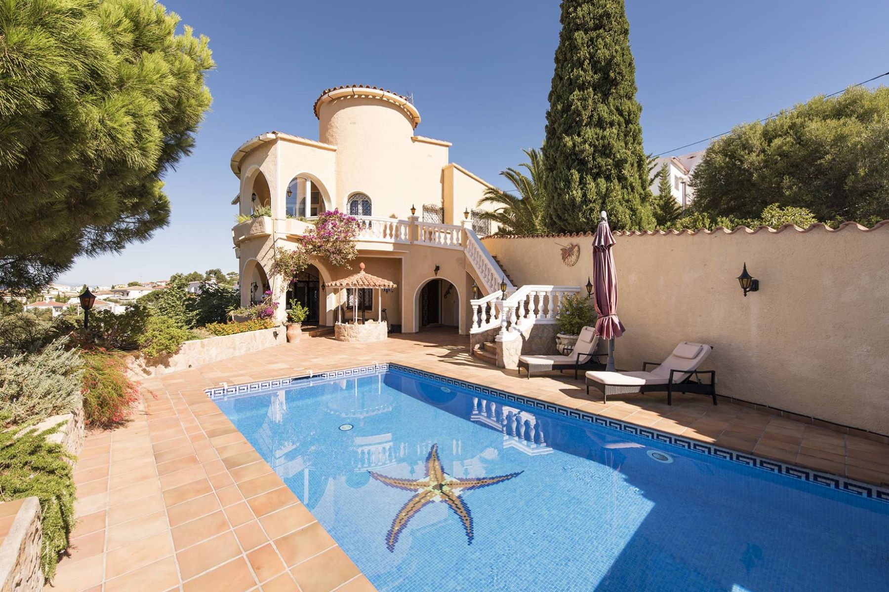 Single Family Home for Sale at Magnificent house in Mas Fumats with sea view Roses, Costa Brava, 17480 Spain