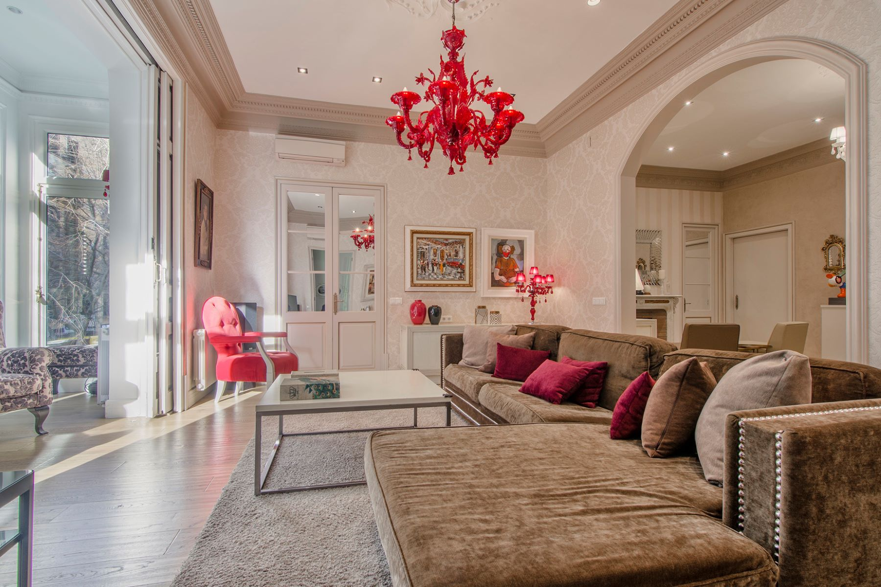 Apartment for Sale at Exclusive Property in the Right Eixample Barcelona City, Barcelona, 08007 Spain