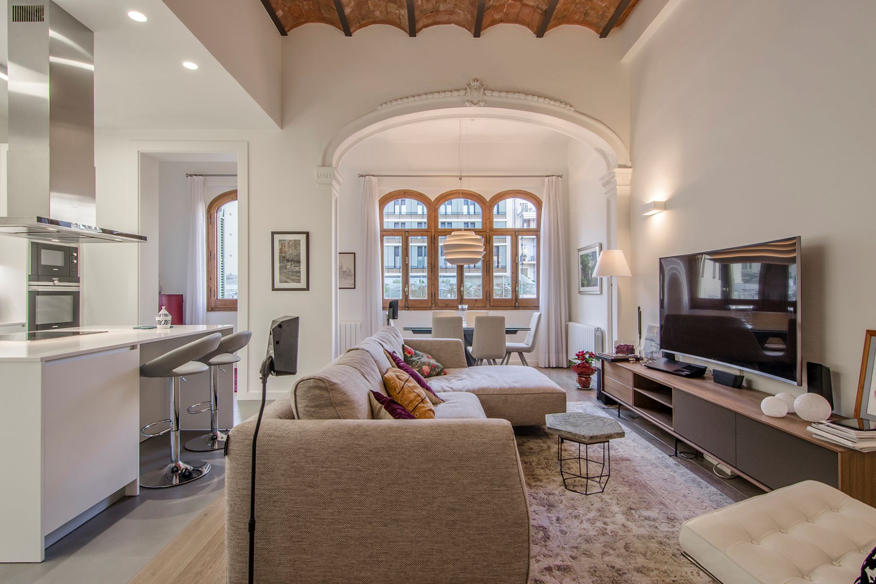 Apartamento por un Venta en Fantastic Apartment Near the Paseo de Gracia Barcelona City, Barcelona, 08007 España
