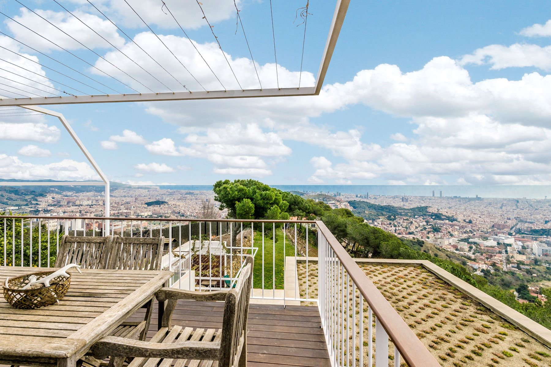 Single Family Home for Sale at Detached property located in Collserola with panoramic views of Barcelona Barcelona City, Barcelona, 08034 Spain