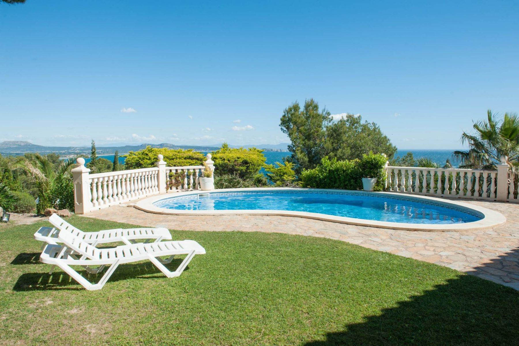 Casa Unifamiliar por un Venta en Mediterranean house with spectacular sea views Begur, Costa Brava, 17255 España
