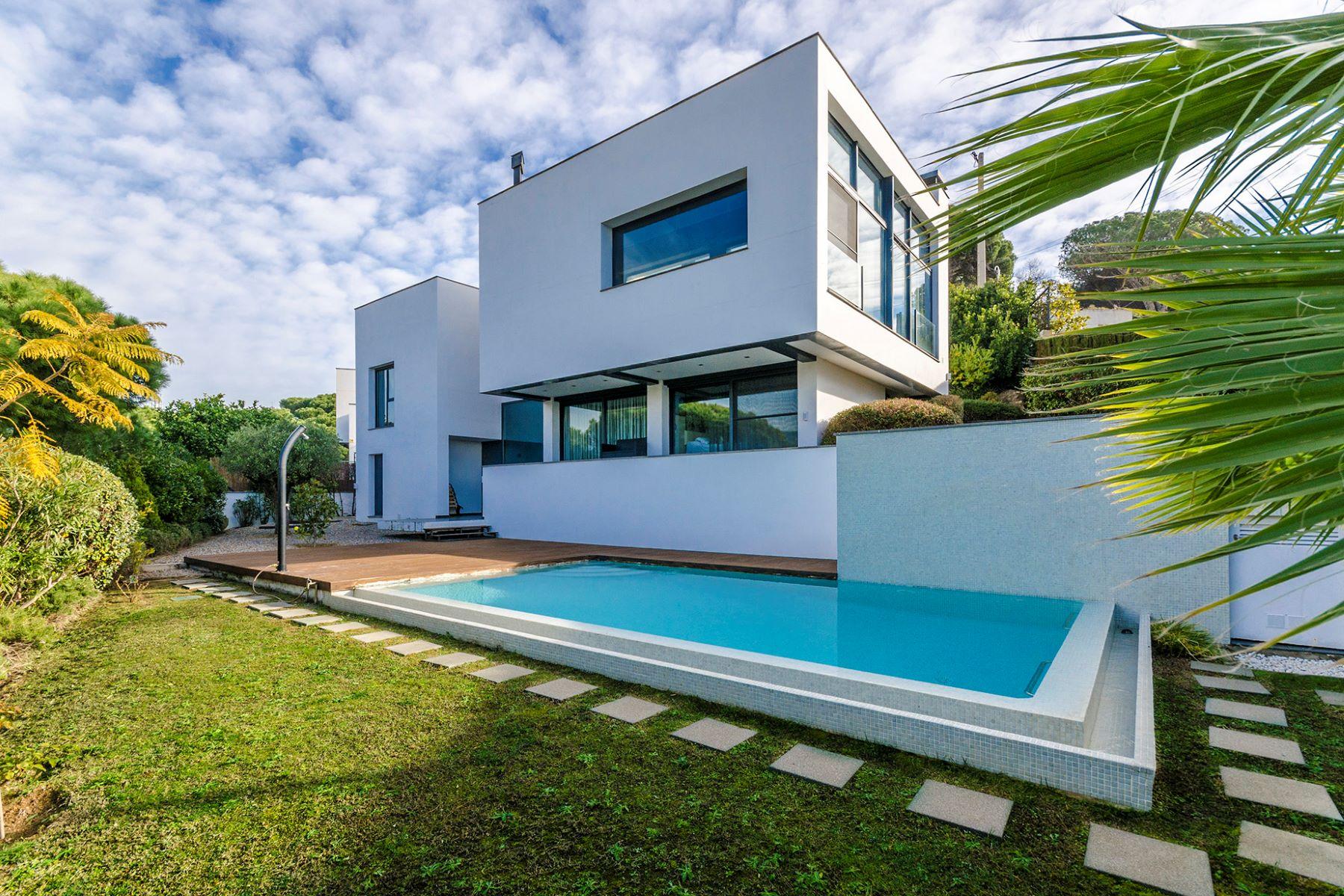 Maison unifamiliale pour l à vendre à Modern house with fantastic sea views Sant Andreu De Llavaneres, Barcelona, 08392 Espagne