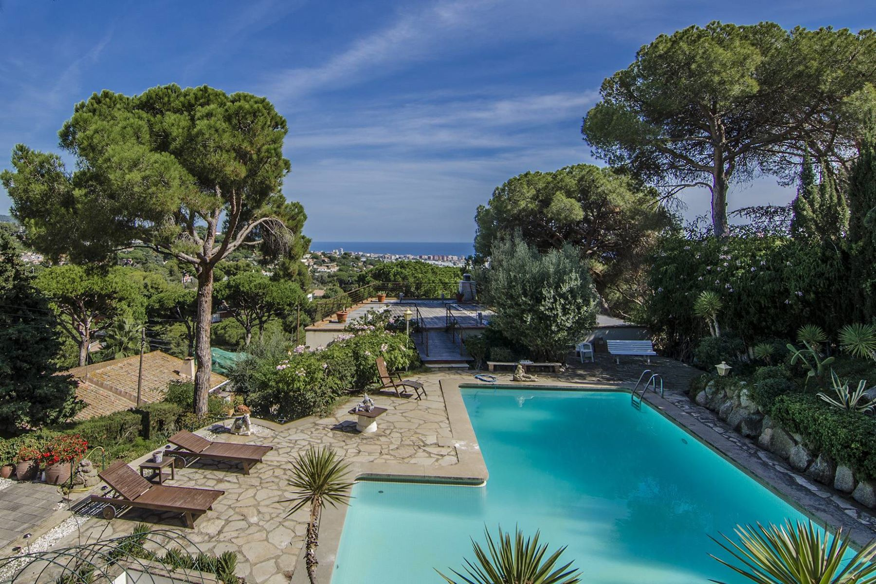 Single Family Home for Sale at Classic house with amazing views over the Mediterranean Vilassar De Mar, Barcelona, 08340 Spain