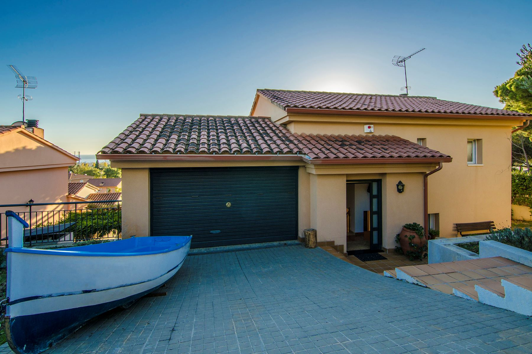 Single Family Home for Sale at Practical and Cozy Single-Family House in Cabrils Cabrils, Barcelona, 08348 Spain