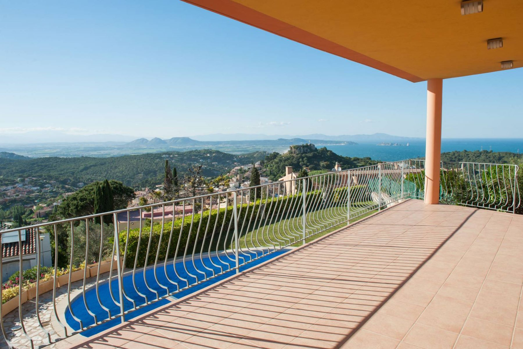 Single Family Home for Sale at Mediterranean house in the village with the best views in Begur Begur, Costa Brava, 17255 Spain