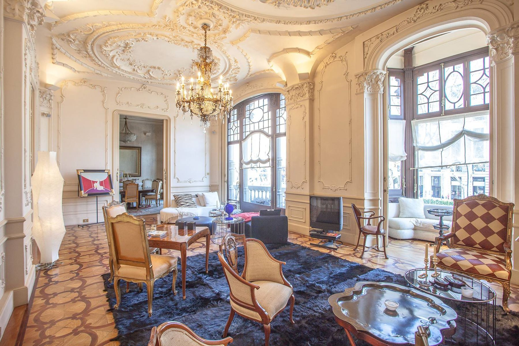 Apartment for Sale at Ornate and Opulent Palace on the Exclusive Paseo de Gracia Barcelona City, Barcelona 08007 Spain
