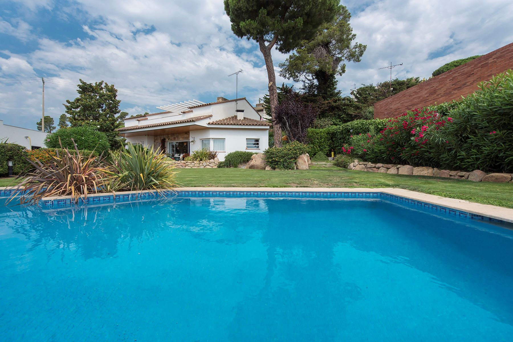 Single Family Homes for Sale at Villa with sea view in Mas Vila Other Spain, Other Areas In Spain 17252 Spain