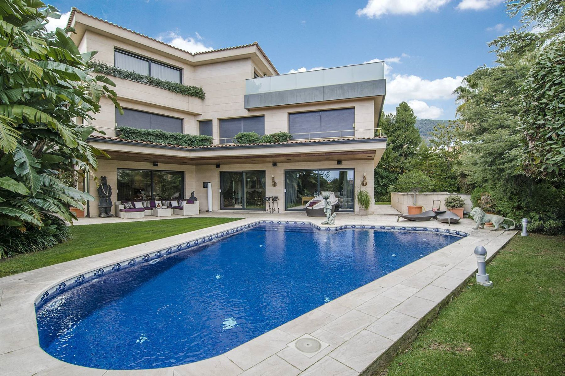 Villa per Vendita alle ore House for Sale in Pedralbes Barcelona City, Barcellona, 08034 Spagna