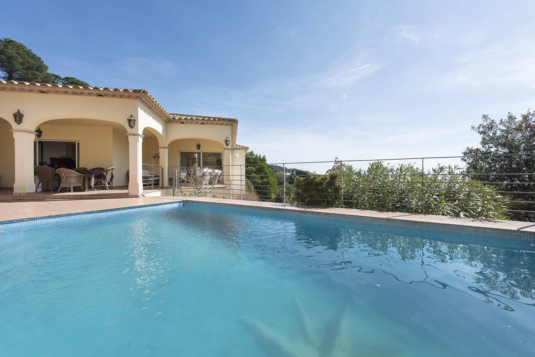 Single Family Home for Sale at Cosy villa with sea and mountain views Playa De Aro, Costa Brava, 17250 Spain