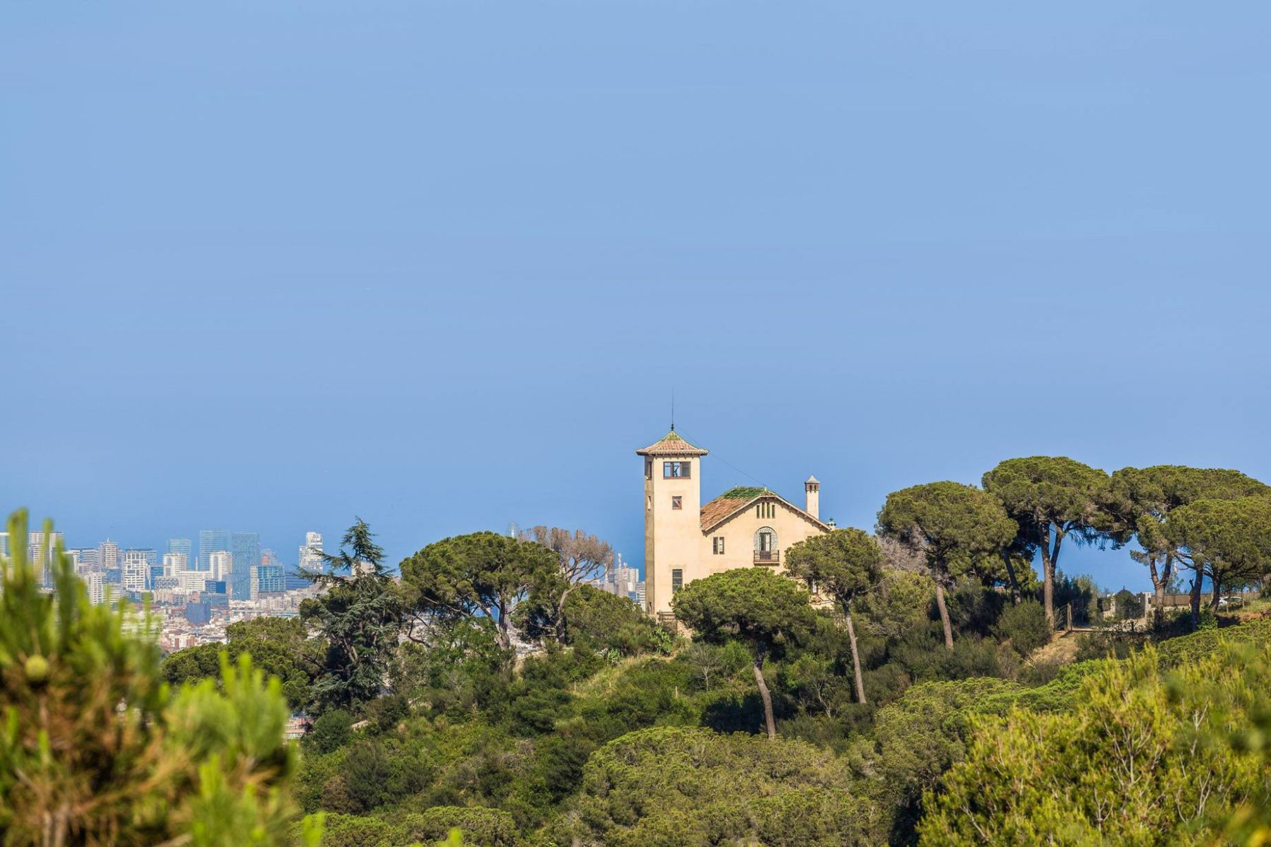 Single Family Home for Sale at Iconic Villa Overlooking Barcelona and the Mediterranean Sea Barcelona City, Barcelona, 08034 Spain