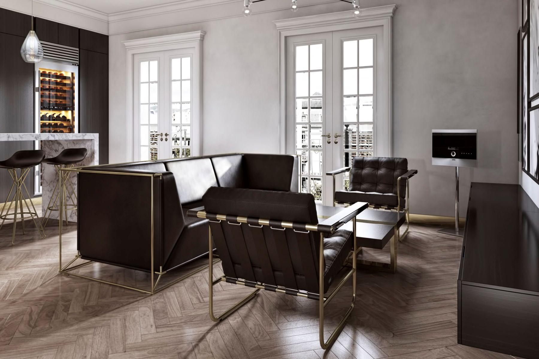 公寓 為 出售 在 New and luxurious apartment located on a prestigious street in left Eixample ... Barcelona City, Barcelona, 08007 西班牙