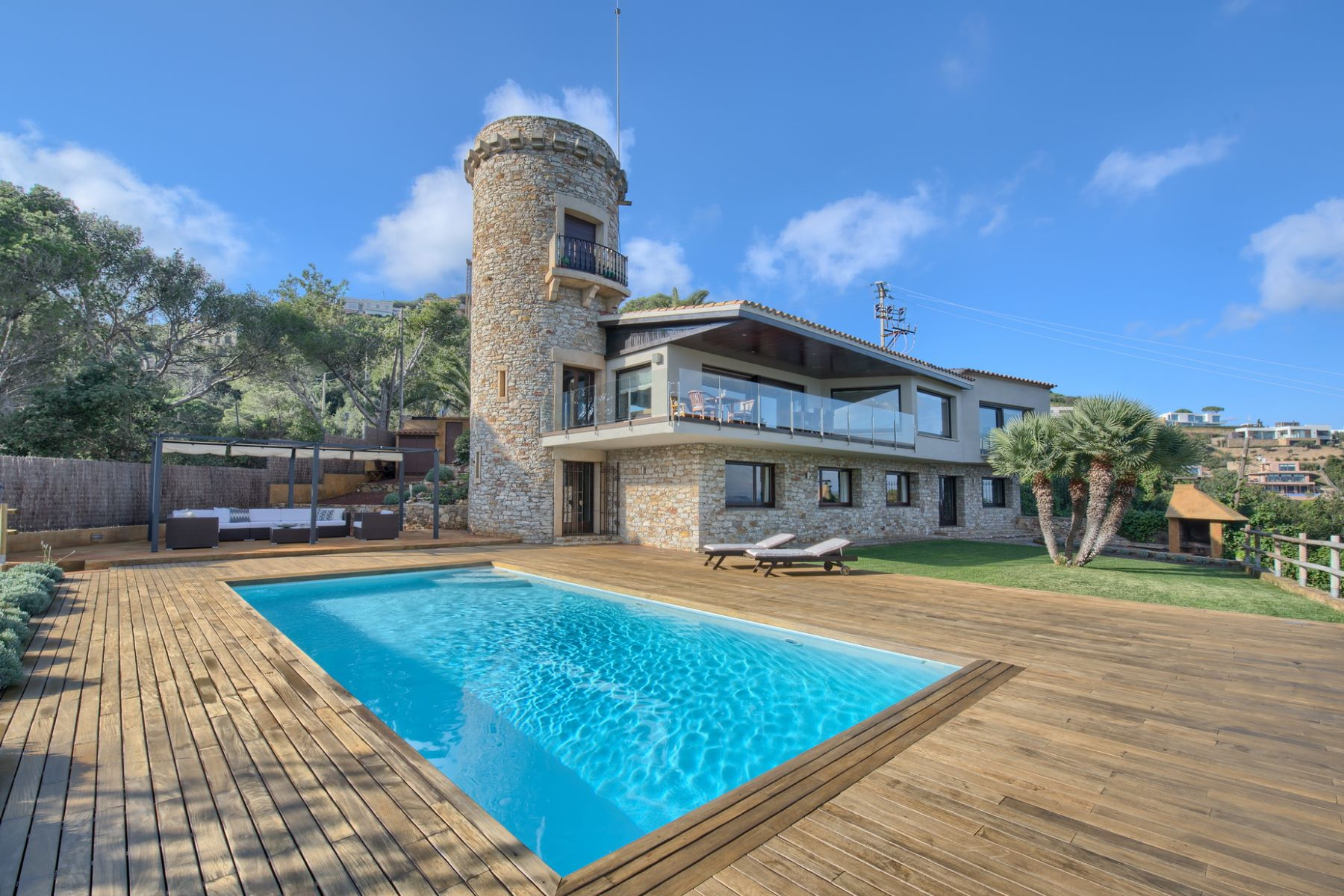 Single Family Home for Sale at Fantastic house with sea views, big plot and privacy Begur, Costa Brava, 17255 Spain