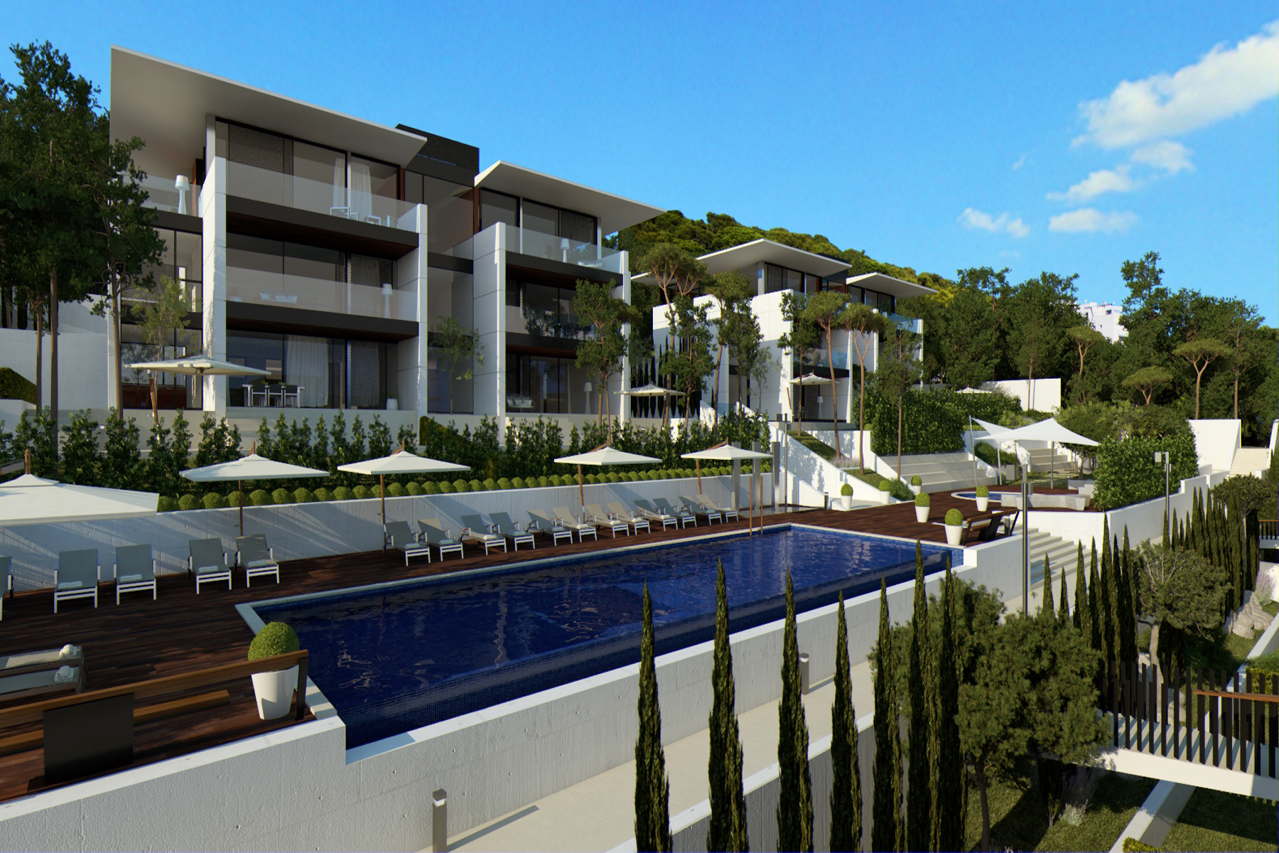 Apartment for Sale at First floor with sea view in a new exclusive development Playa De Aro, Costa Brava, 17250 Spain