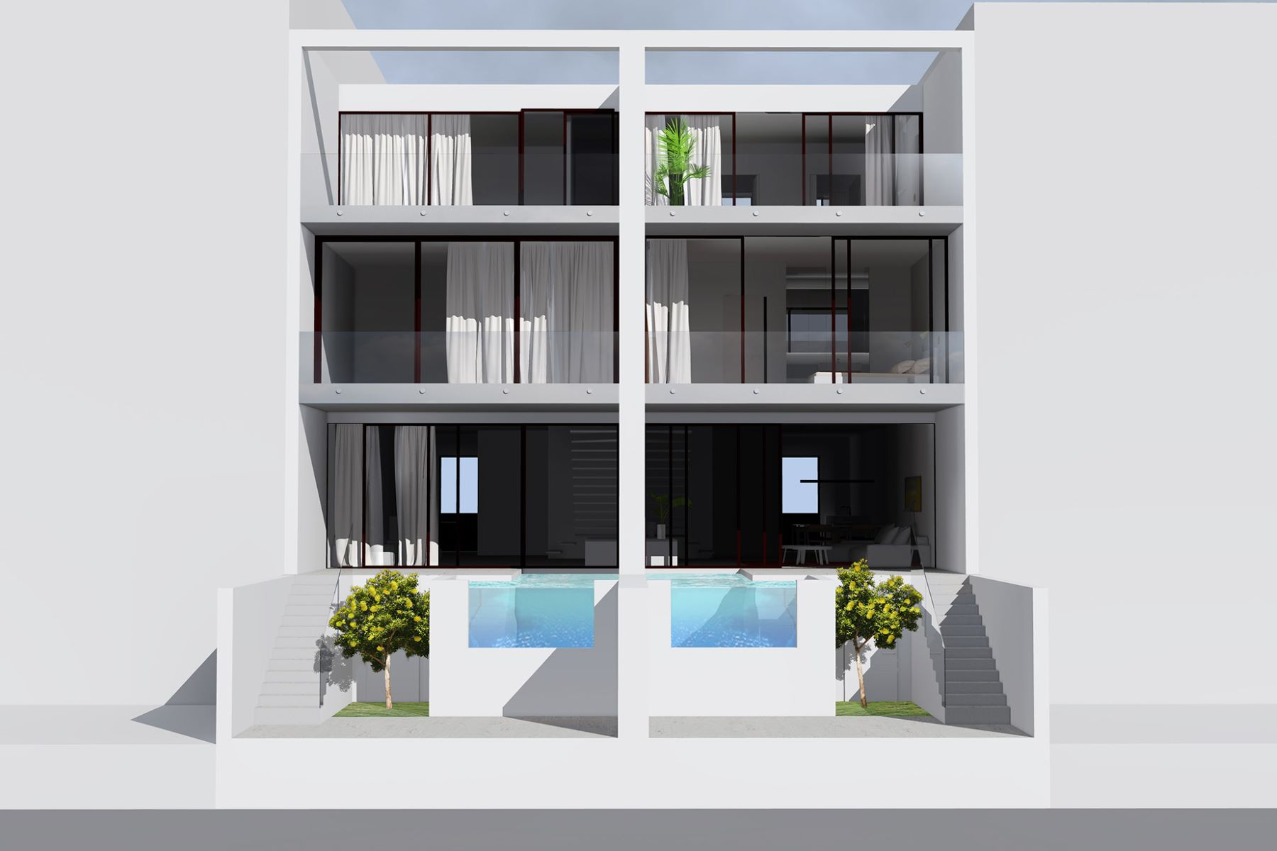 Single Family Home for Sale at Houses under construction, modern, good high quality, near the center and be ... Empuriabrava, Costa Brava, 17487 Spain