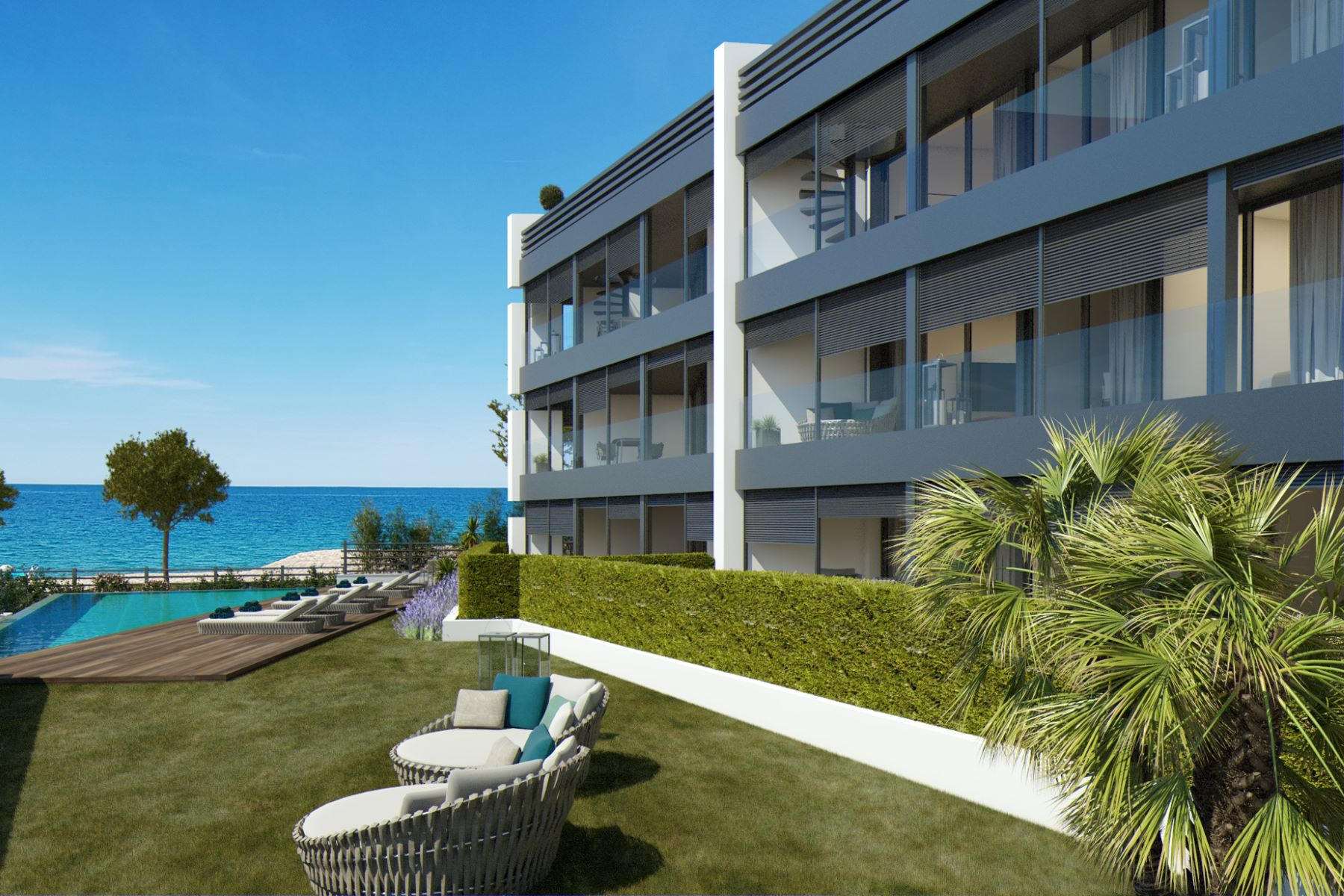 Apartment for Sale at Planta baja con jardín privado y vista al mar en nueva promoción exclusiva Playa De Aro, Costa Brava, 17250 Spain
