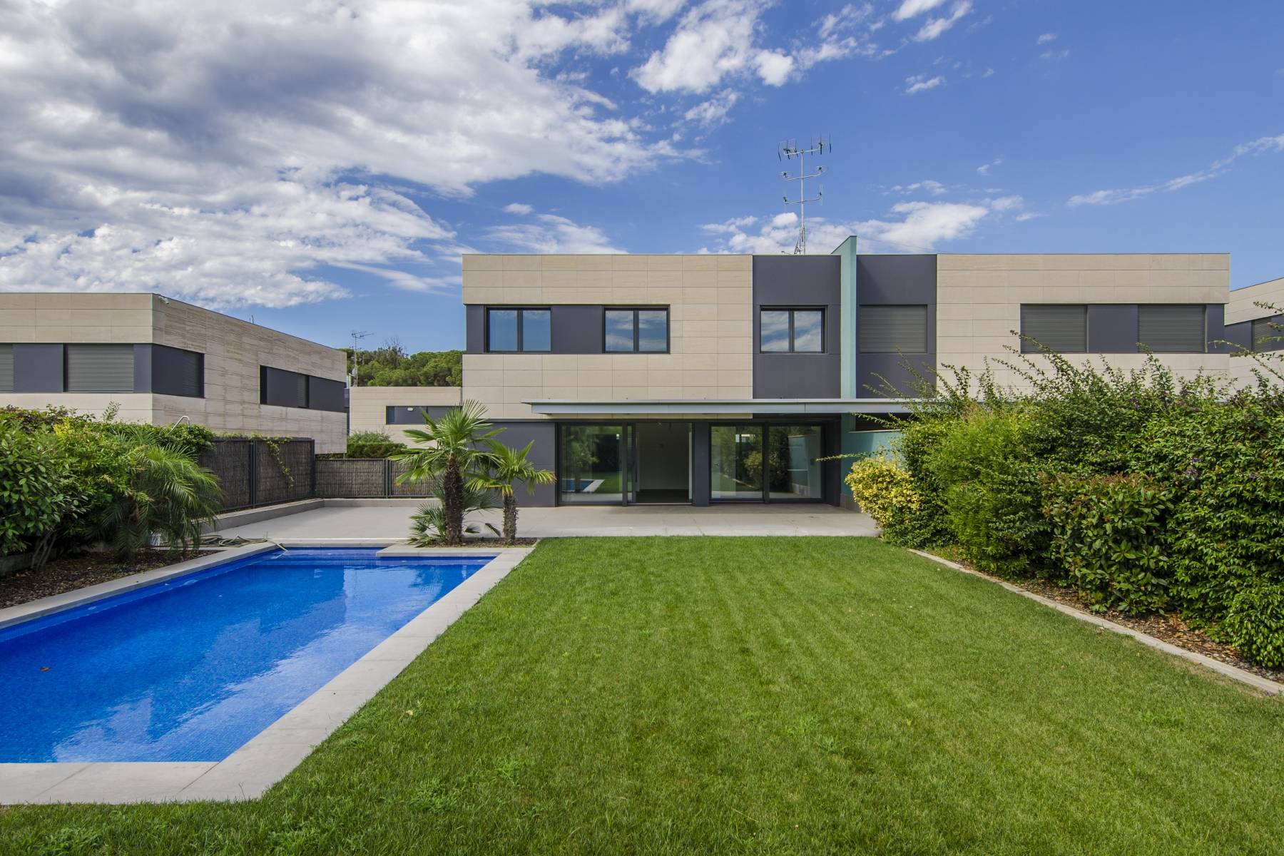 Single Family Home for Sale at Pairing of Black and White Two Steps from the Beach Sant Andreu De Llavaneres, Barcelona, 08392 Spain