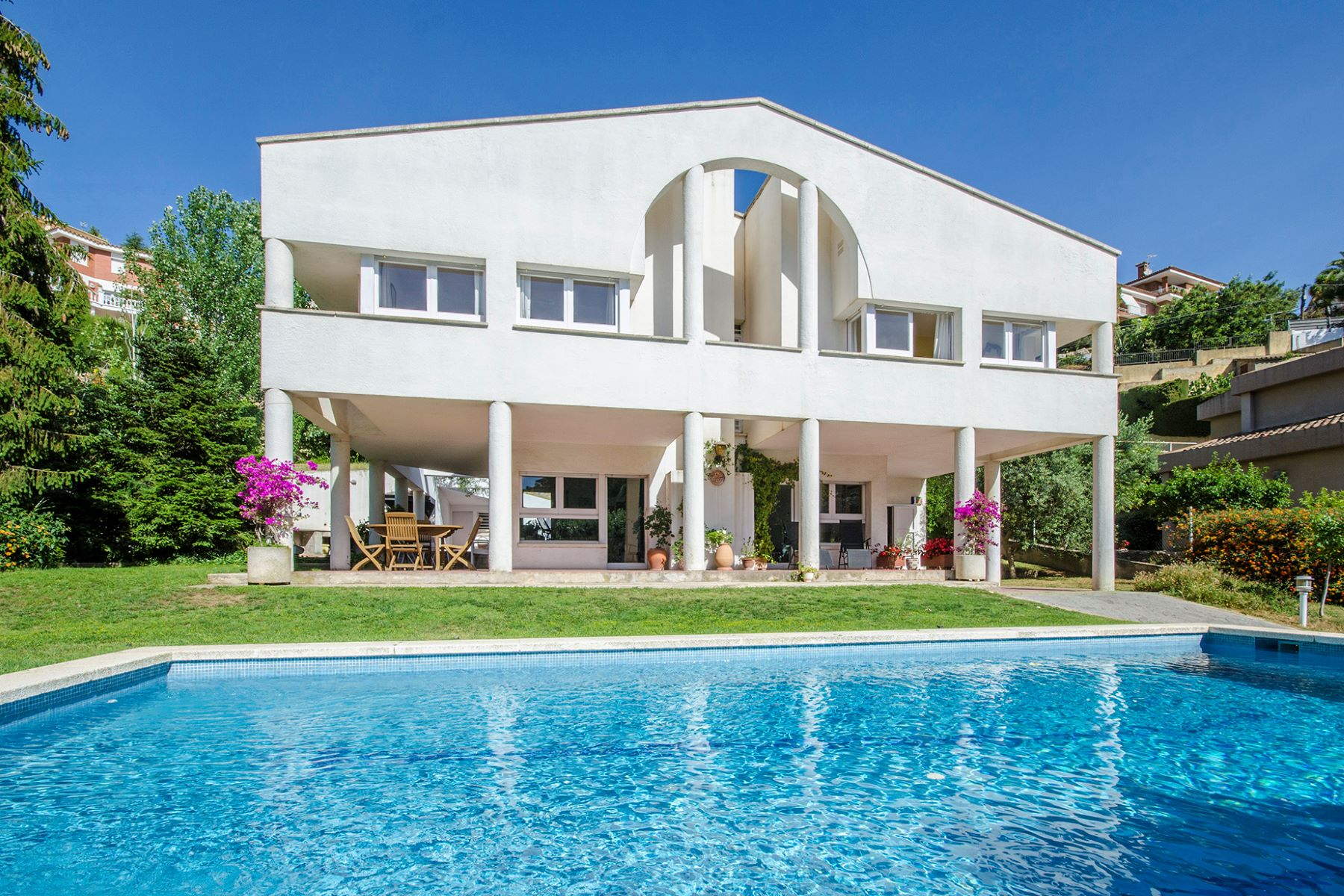 Single Family Home for Sale at Family-type house with a pool in Alella Alella, Barcelona, 08328 Spain
