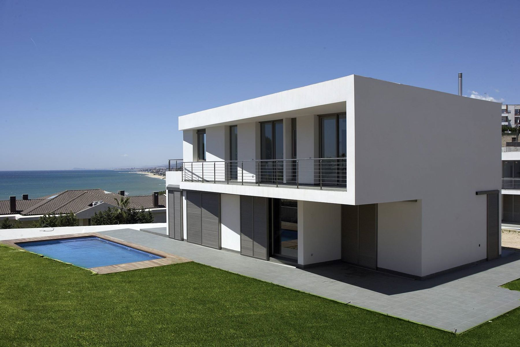 Single Family Home for Sale at Architecture and Design with Sea Views in Arenys Other Cities Barcelona North Coast, Barcelona, 08328 Spain