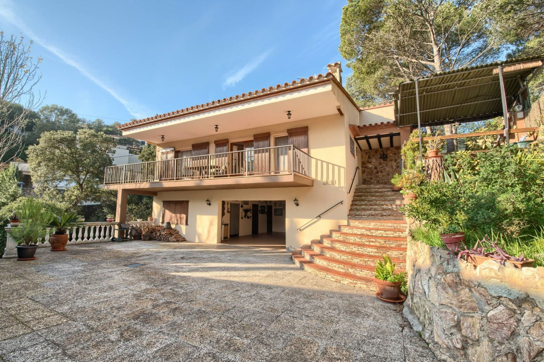Single Family Home for Sale at Mediterranean house just a step from the beach of Sa Riera Begur, Costa Brava, 17255 Spain
