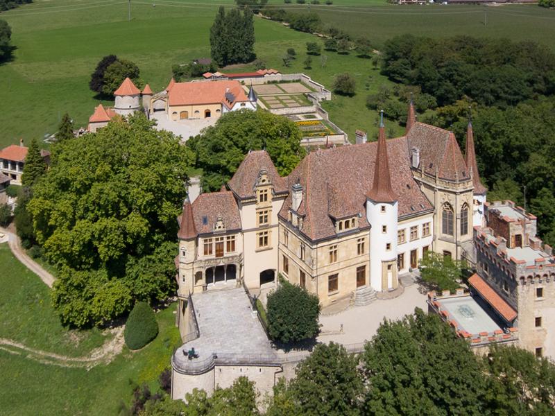 Property For Sale at Gorgier Castle