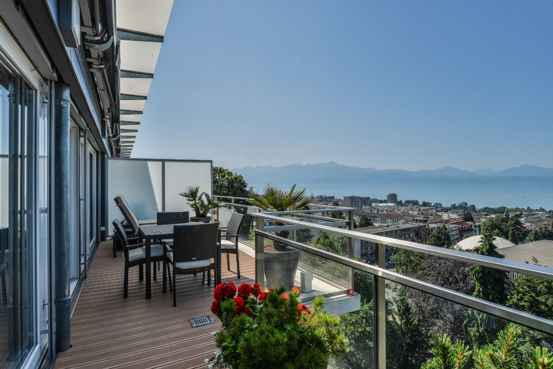 sales property at Splendid penthouse in the city center with a spectacular view