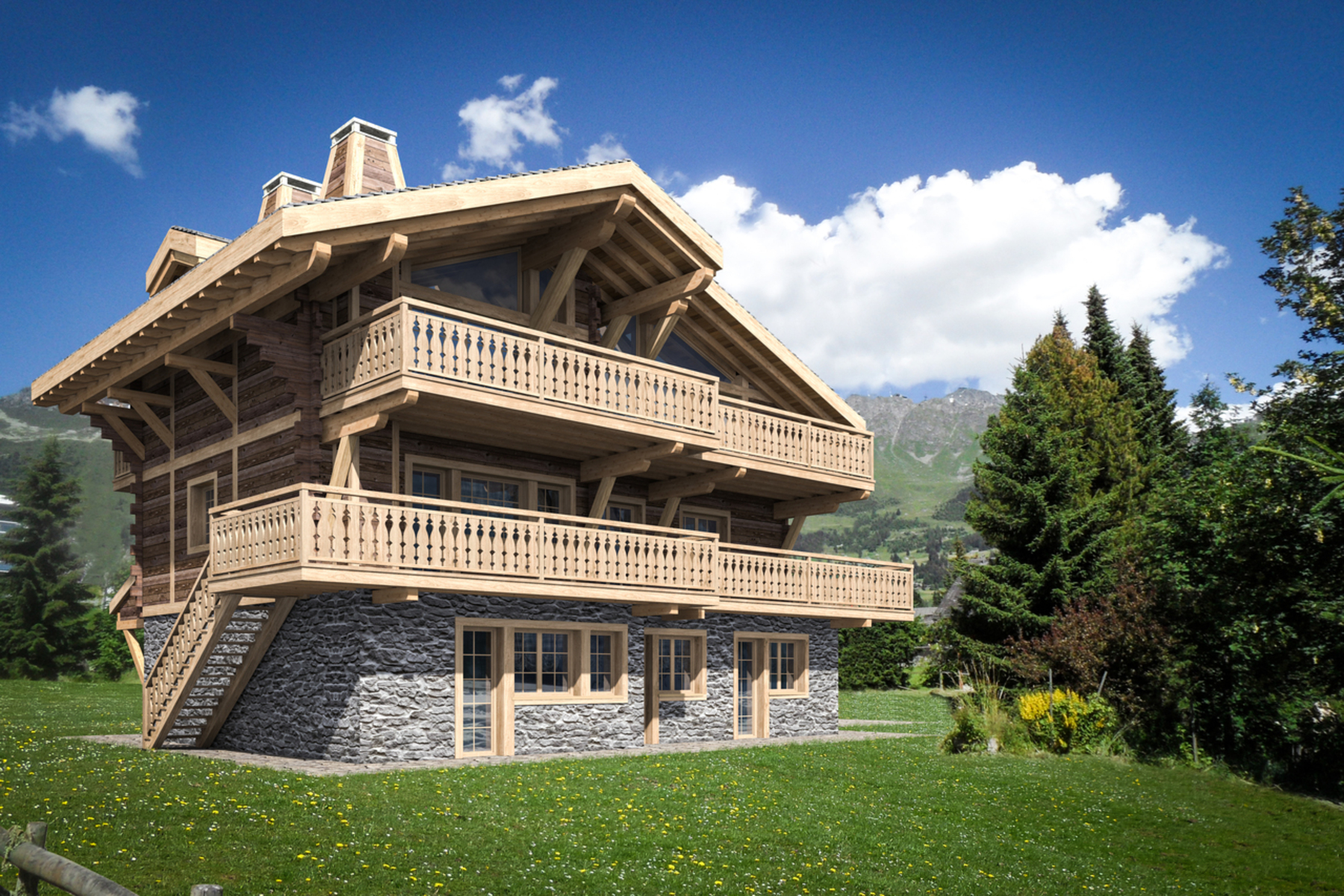 Single Family Home for Sale at Chalet SOMMETS Verbier, 1936 Switzerland