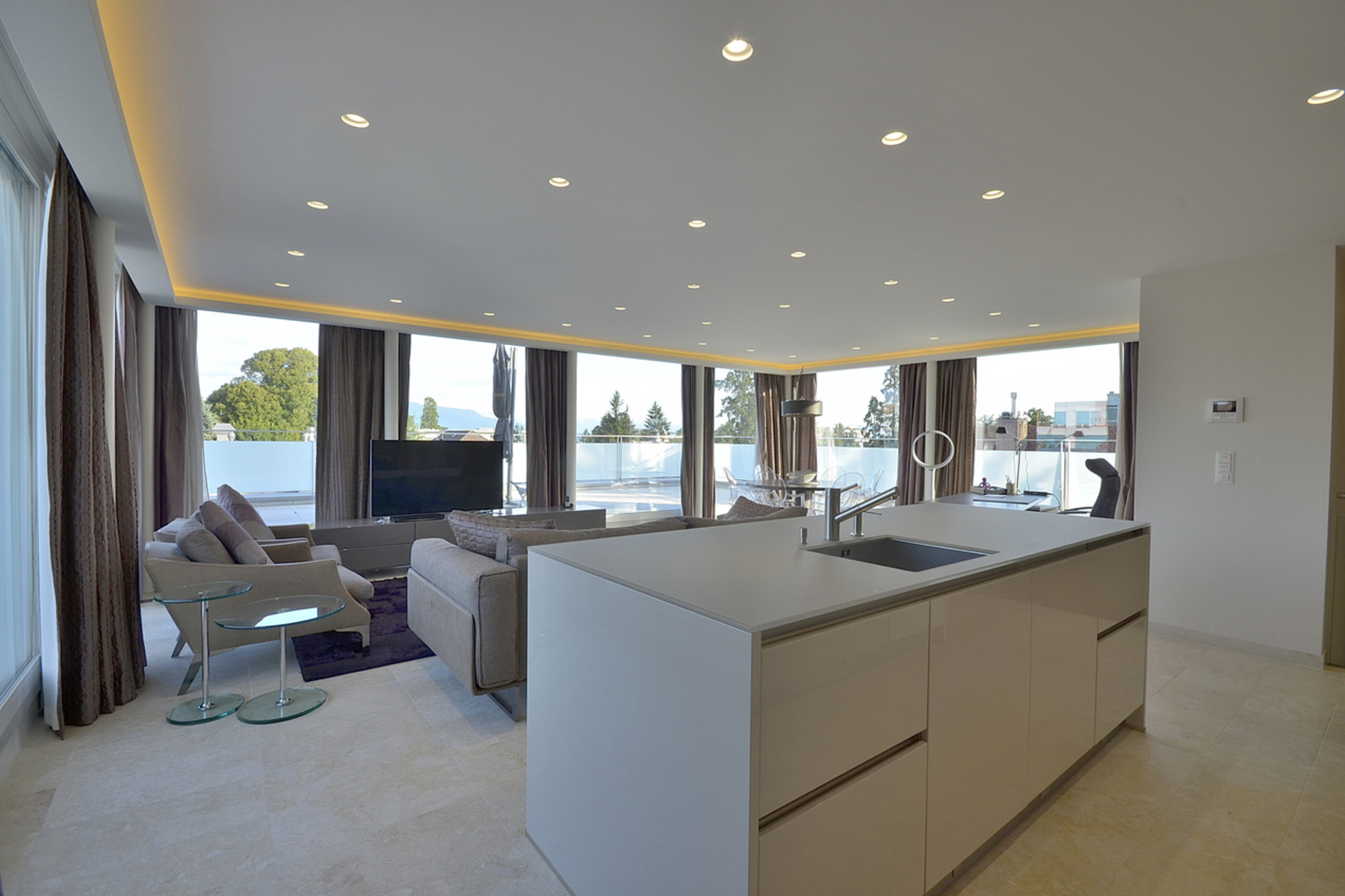 sales property at Luxury duplex penthouse in the town centre