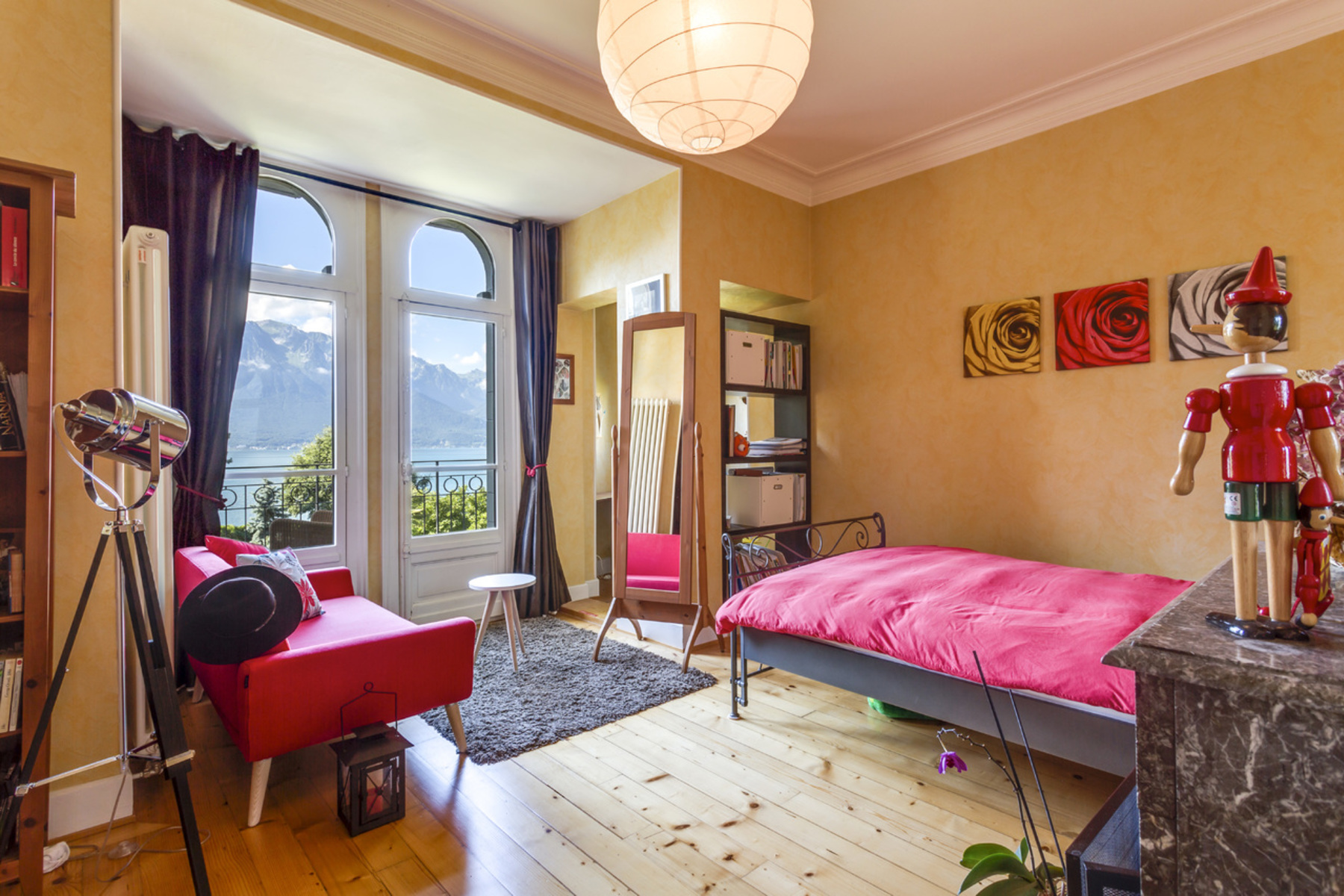 Additional photo for property listing at Stunning 19th century property, fully renovated Beautiful lake view Clarens Clarens, Vaud 1815 Switzerland