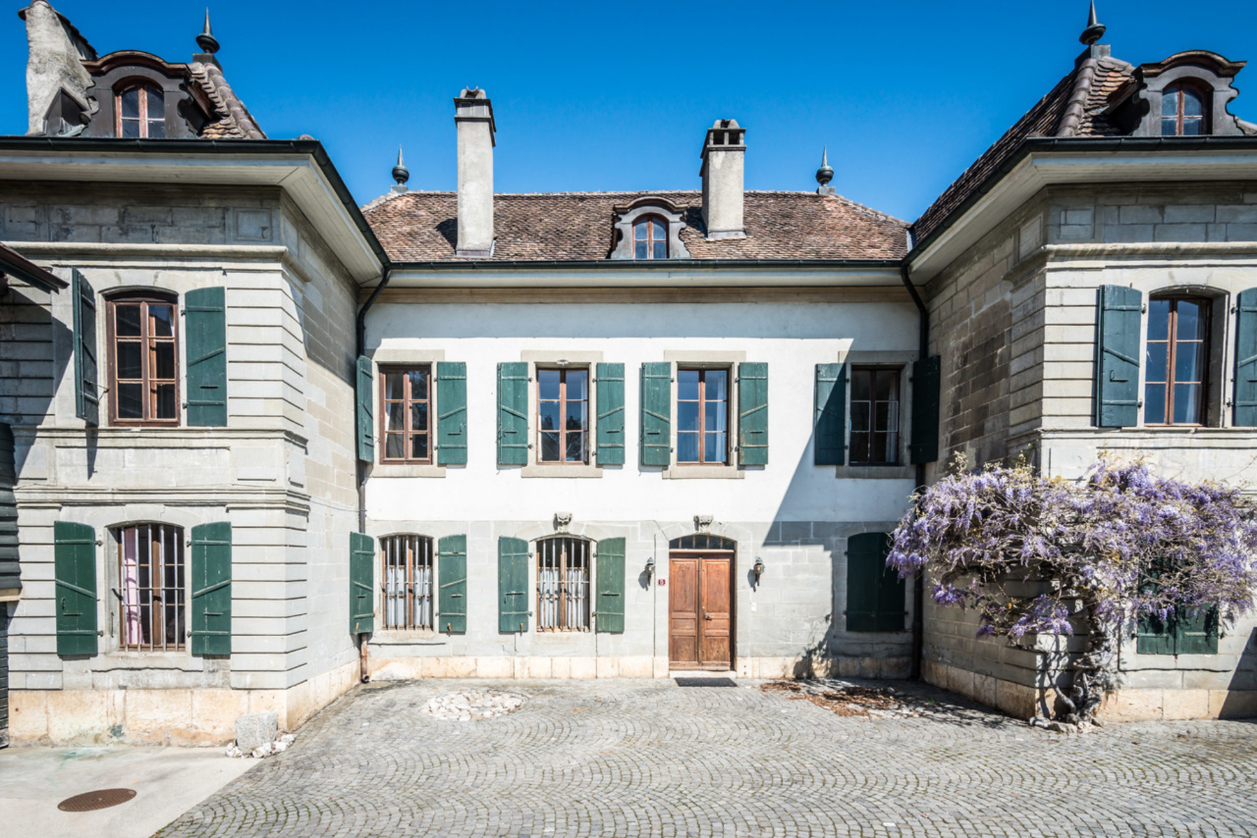 sales property at 18th century village estate in need of renovation